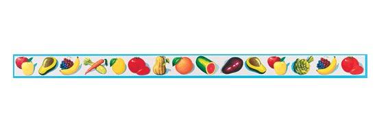 WA20810   Fruit Vegetable Wallpaper Border Set   Intimex Holdings 550x200
