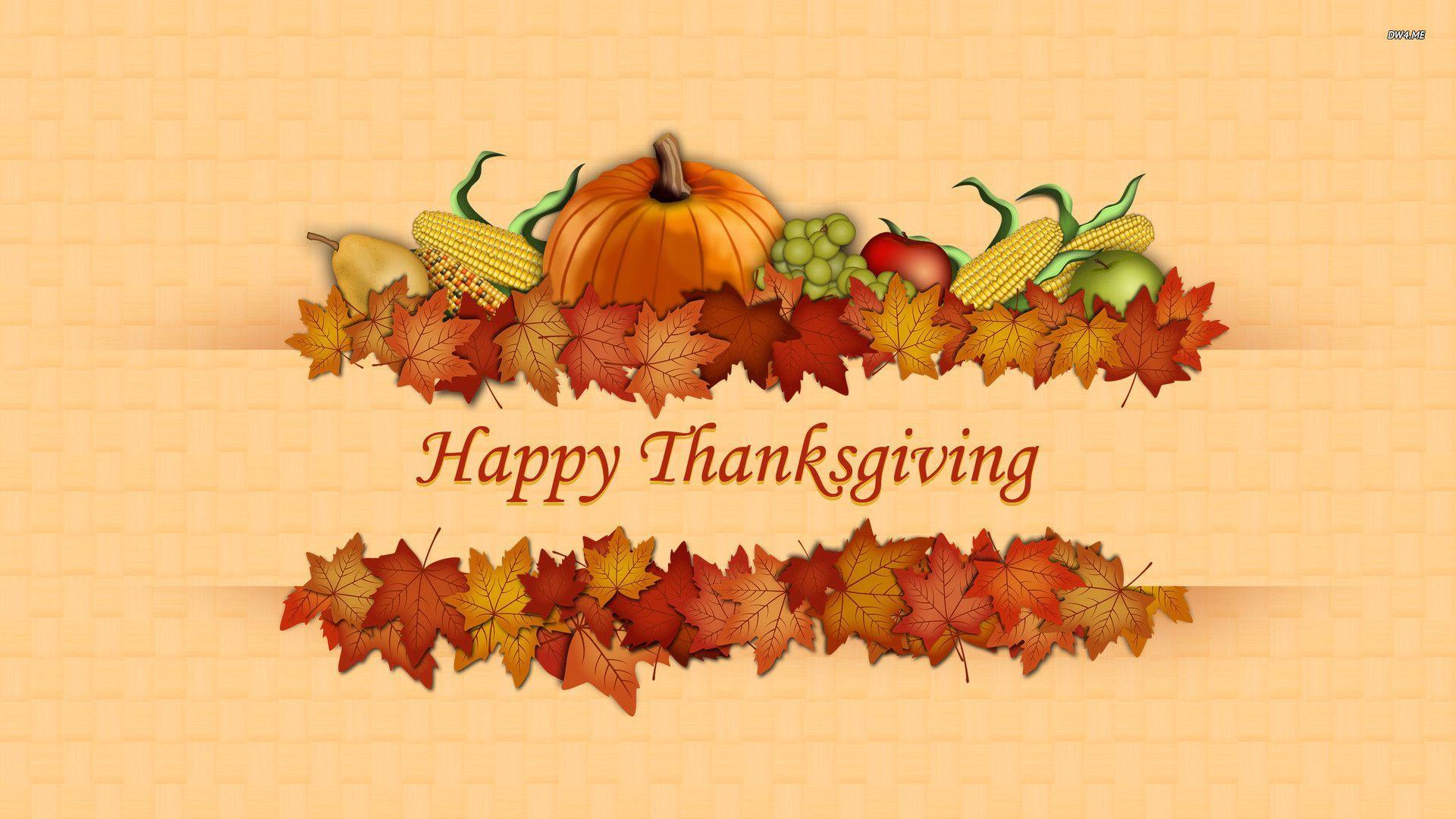 Happy thanksgiving desktop wallpaper   SF Wallpaper 1920x1080