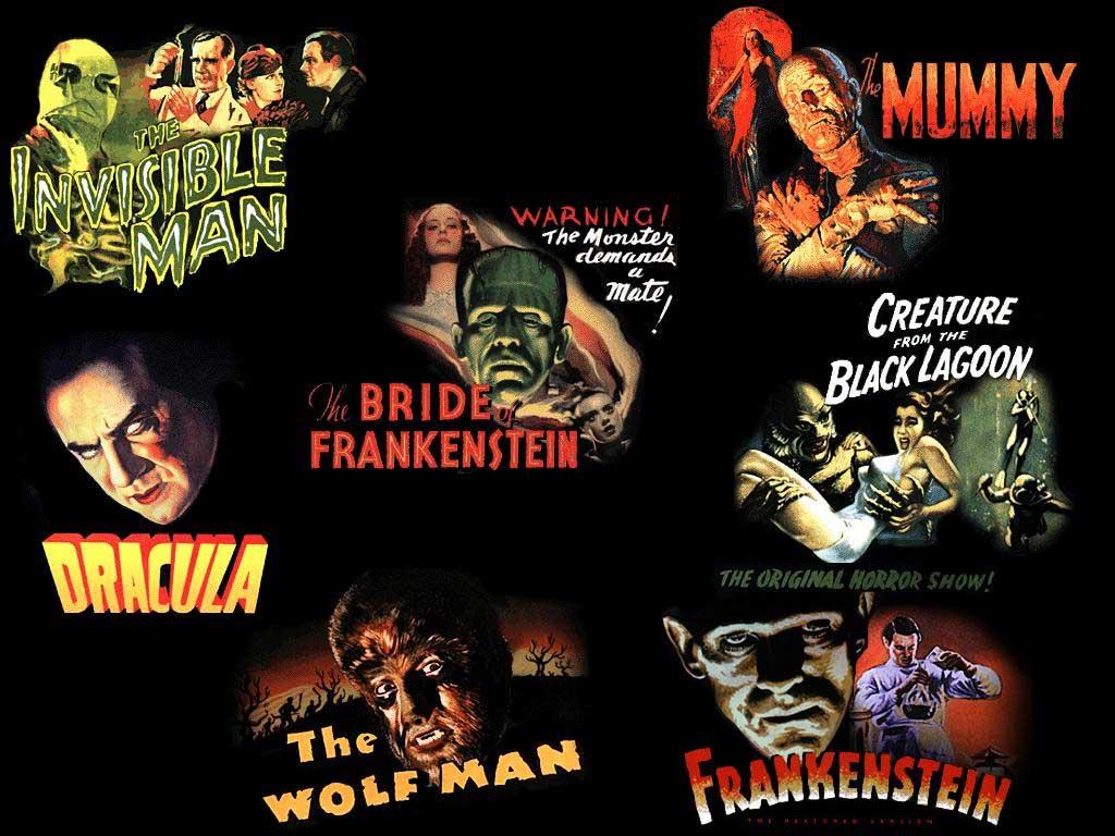 universal monster movie wallpaper 1024x768