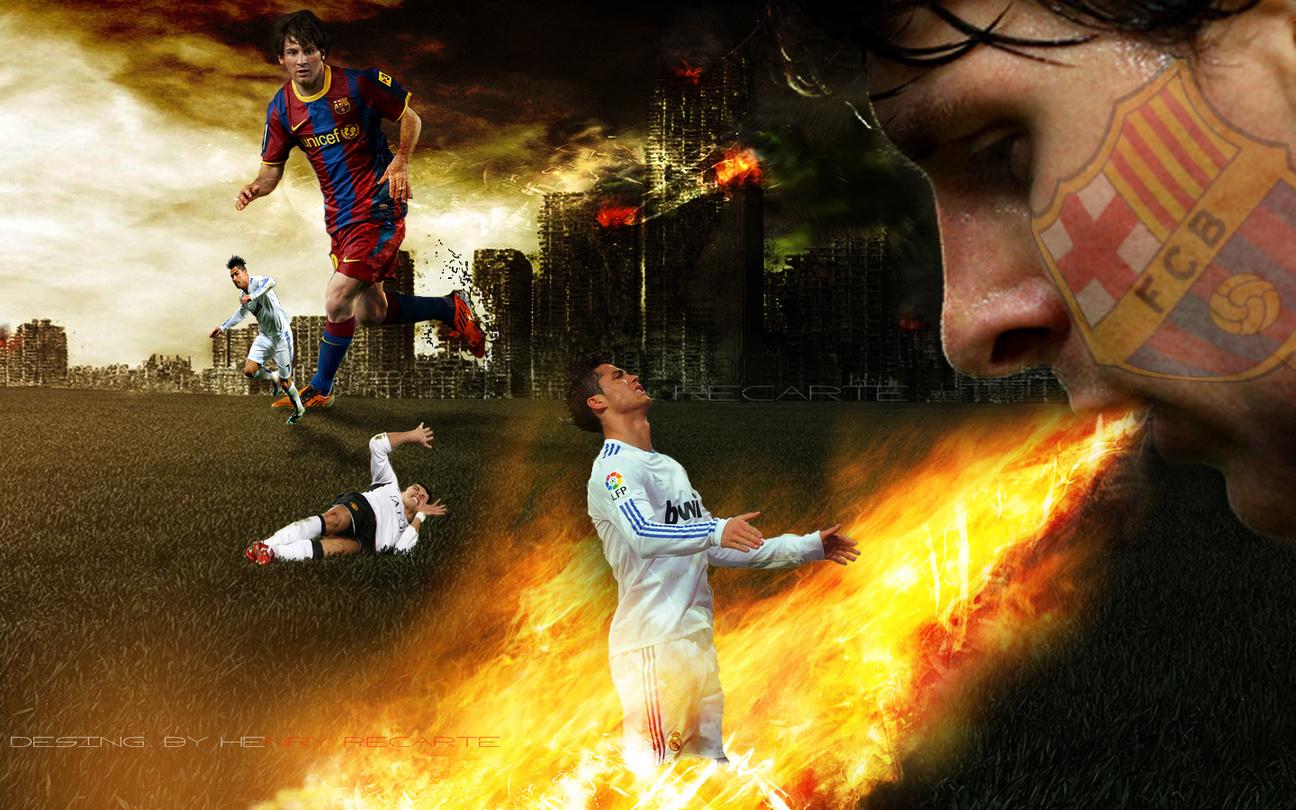 Messi and Ronaldo 1296x810