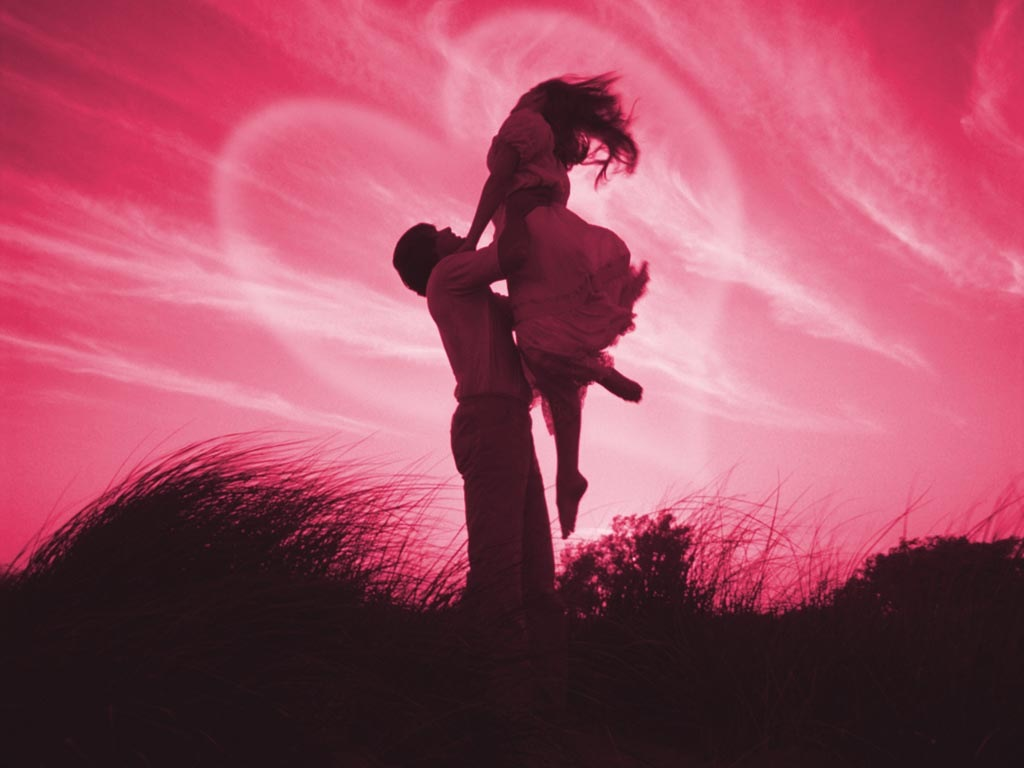 Romantic Love Couples Kissing Wallpapers 1024x768