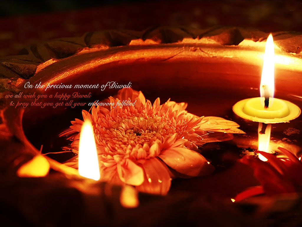 Live Diwali Wallpaper for Desktop 1024x768