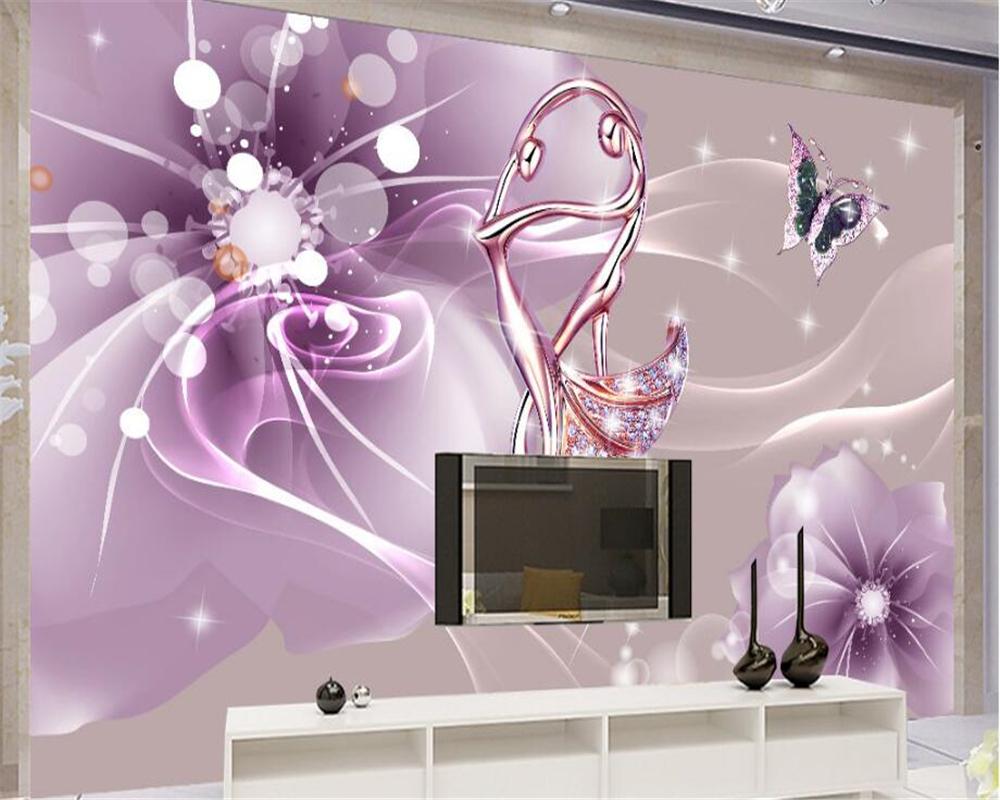 beibehang Interior Home Decorative Wallpaper Aesthetic Romantic 1000x800