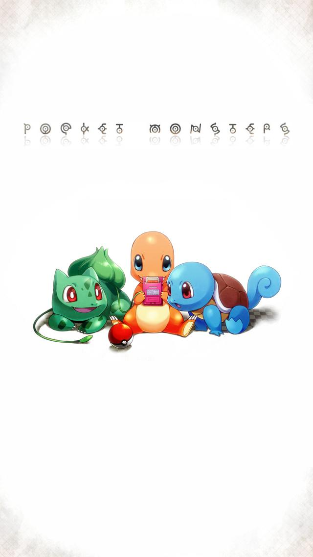 Pokemon Pocket Monsters iPhone 5 Wallpaper 640x1136 640x1136