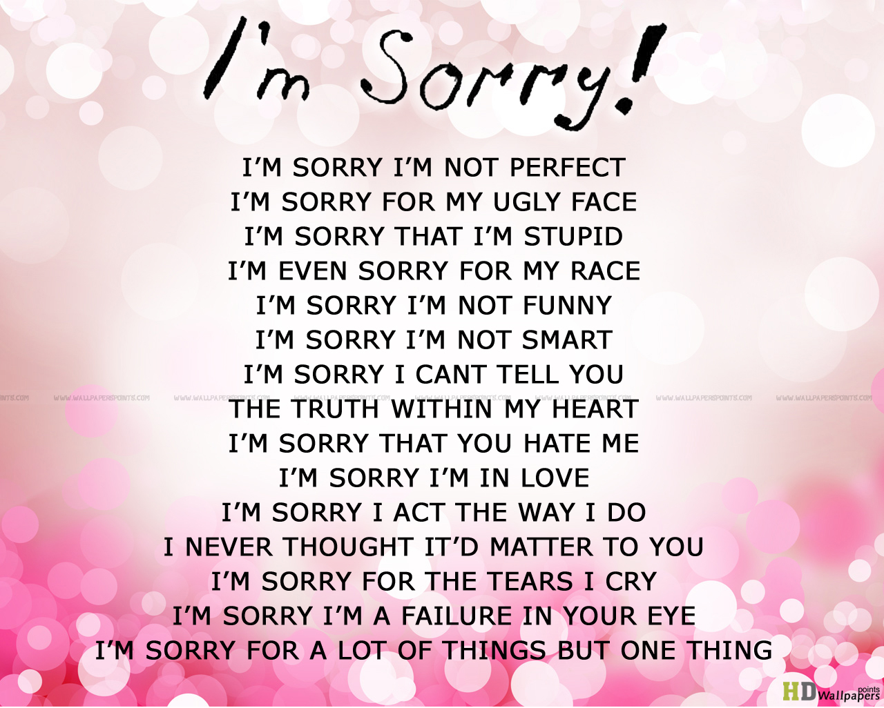 Perfect Love Quotes For Her Sorry Love Pictures  Impremedia