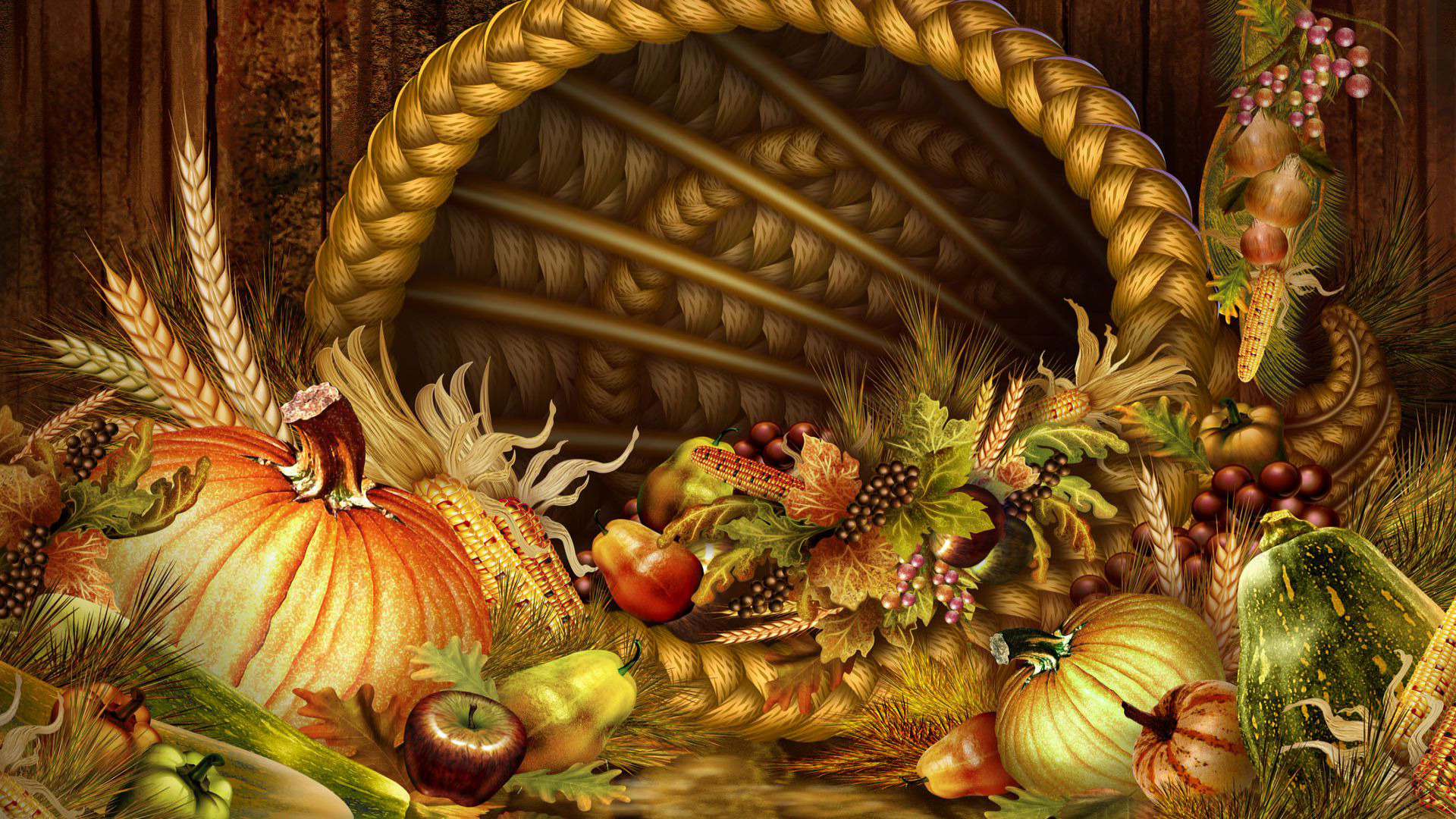 Thanksgiving Wallpapers for Desktop 1600x900 - WallpaperSafari