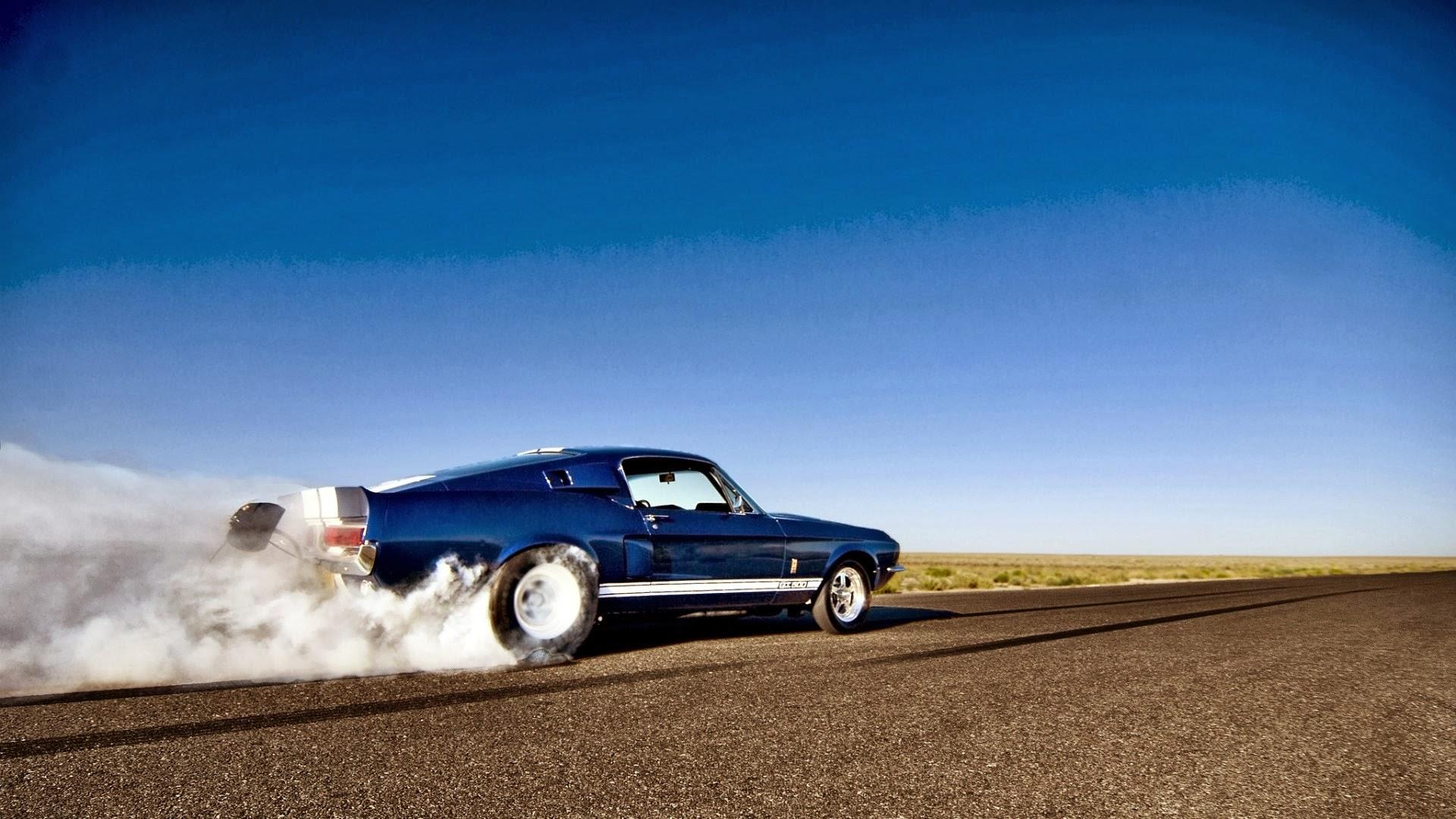 Mustang Burnout Wallpaper Wallpapersafari