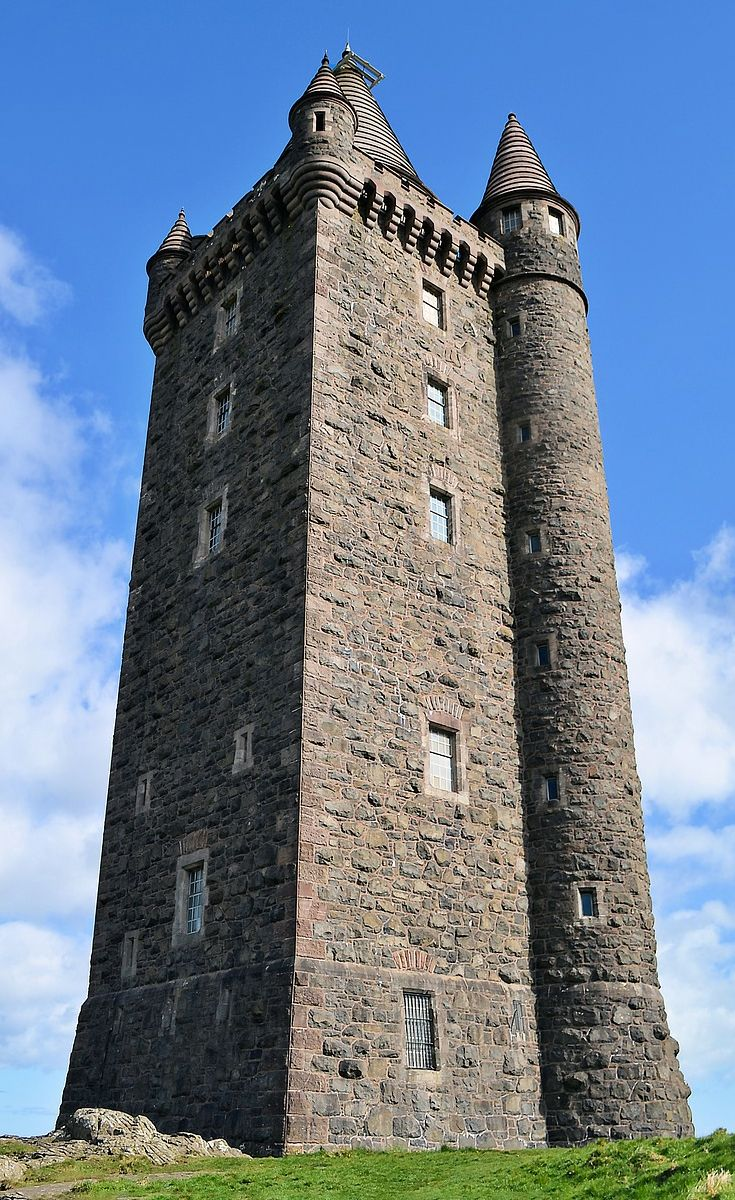 Scrabo Tower is west of Newtownards in County Down Northern 735x1200