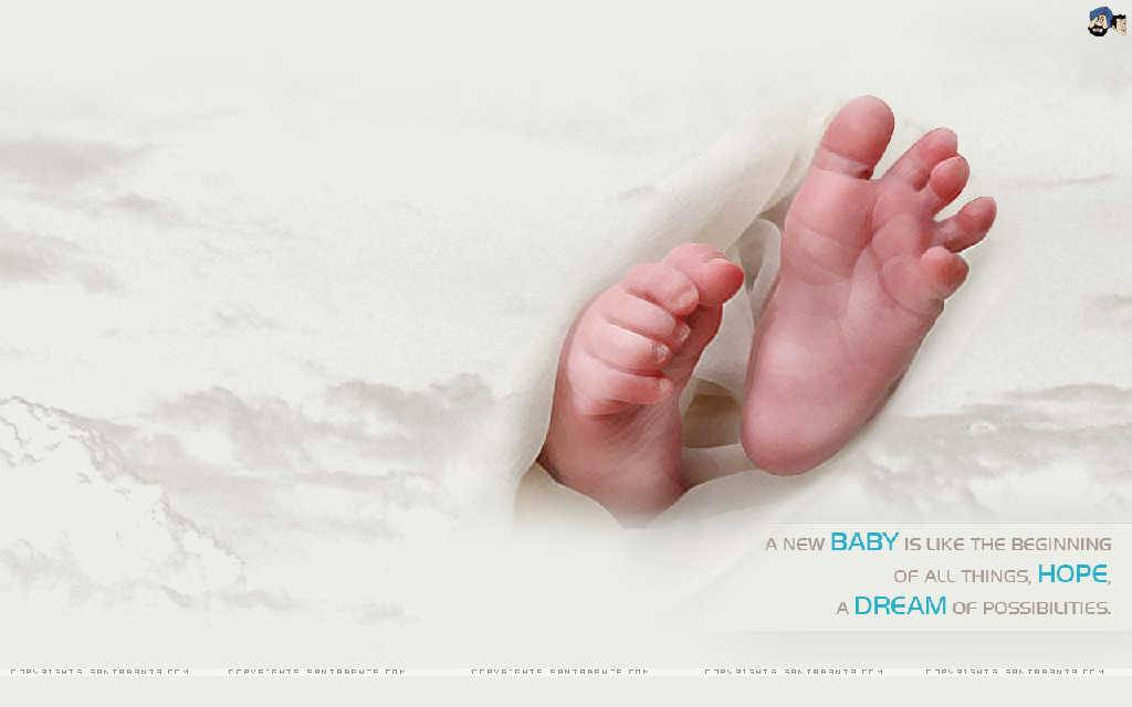 Free Download Cute Baby Feet Cute Baby Wallpaper 1024x640