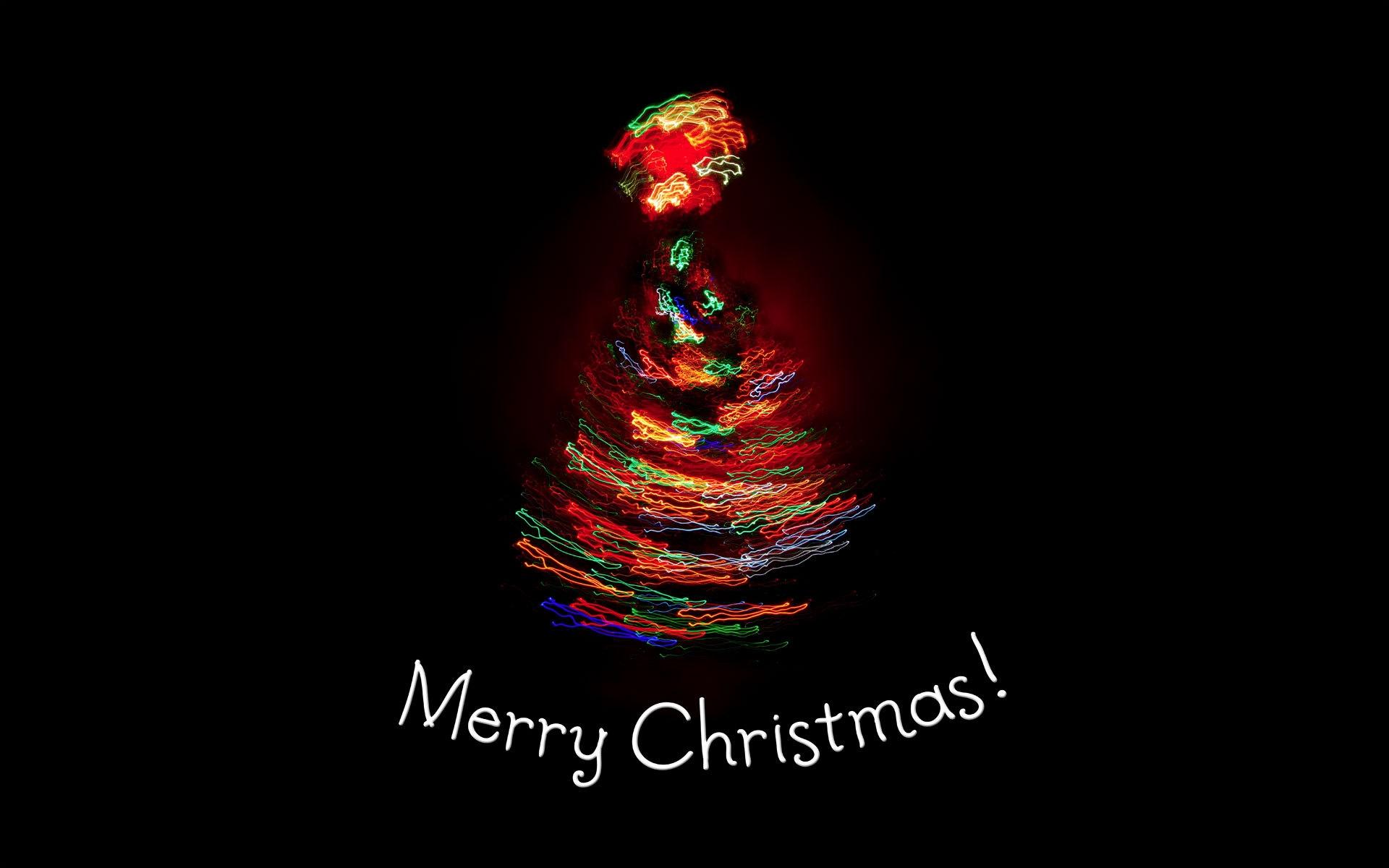 Merry Christmas Tree 4K Ultra Hd Pc Wallpaper - HD Wallpapers