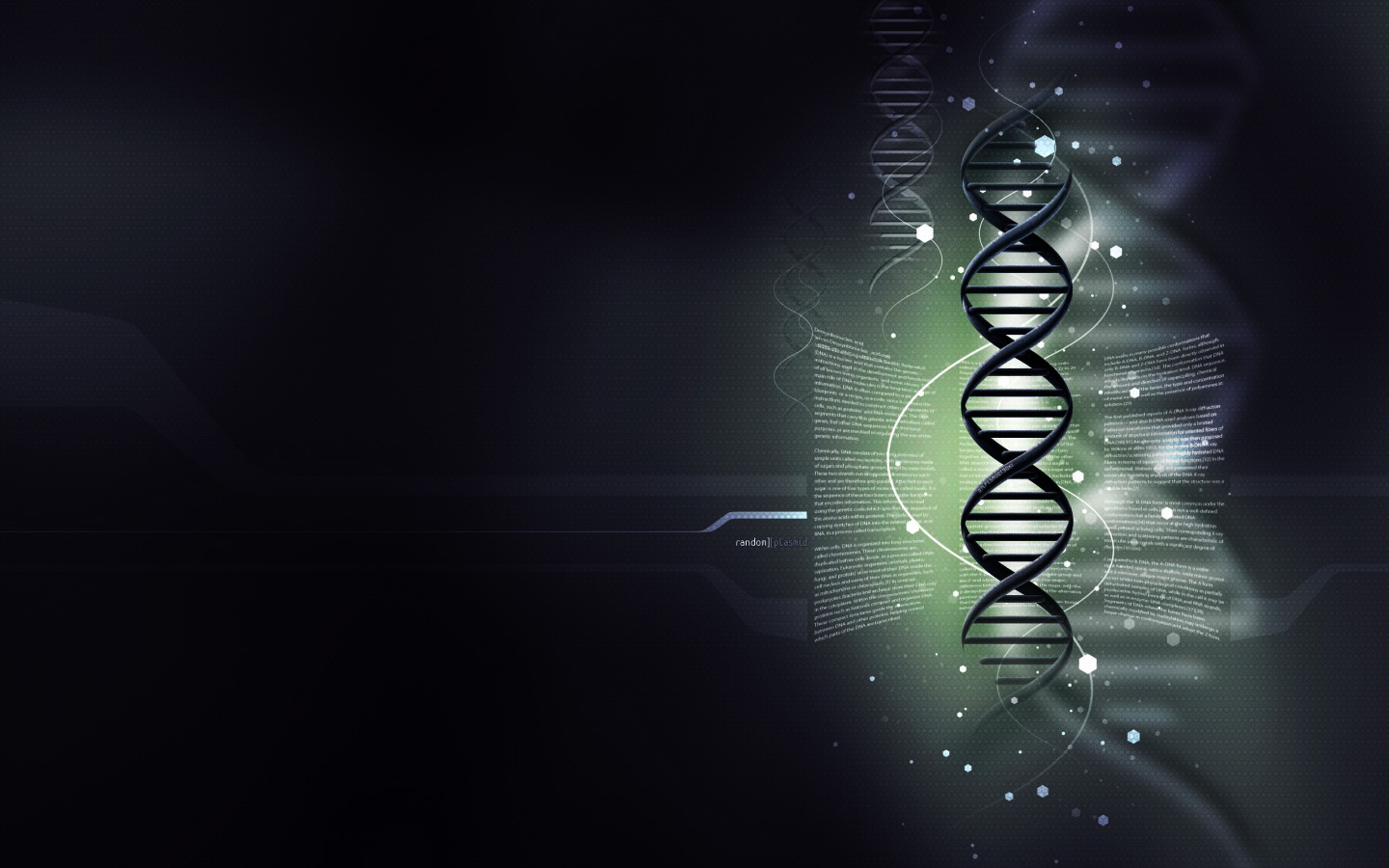 Abstract DNA Wallpaper 1440x900 Abstract DNA 1440x900