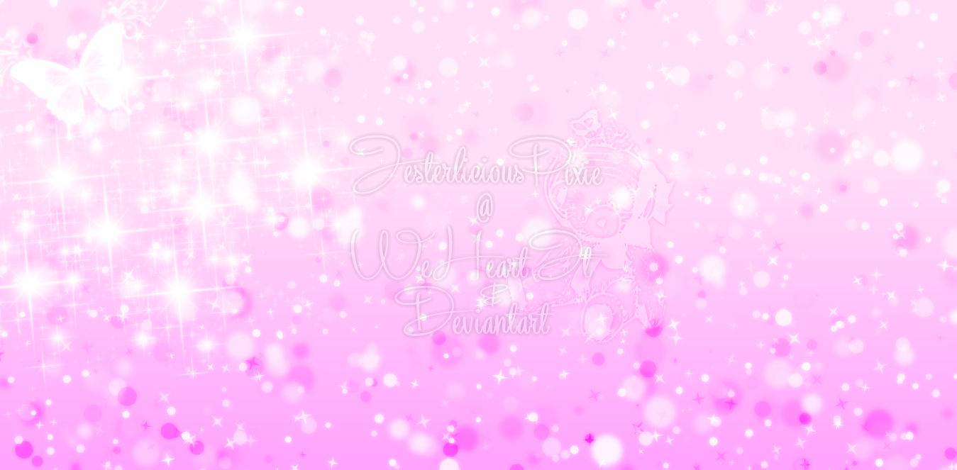 pink sparkle wallpaper by jesterliciouspixie fan art wallpaper other 1349x663