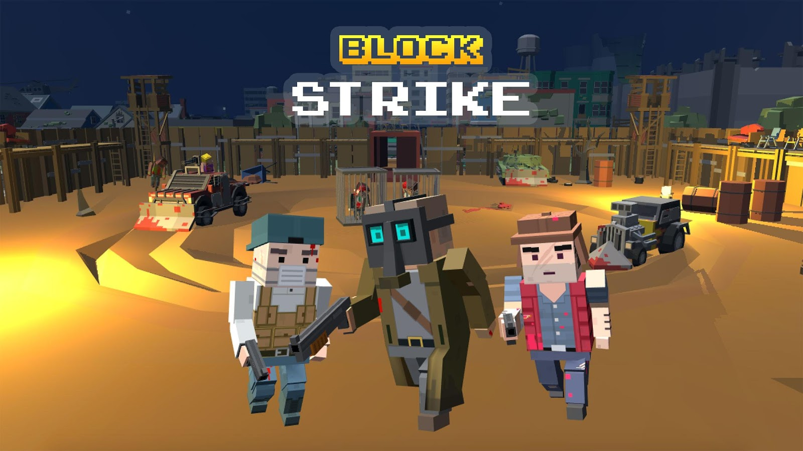 Block city strike 115 APK Download   Android Action Games 1600x900