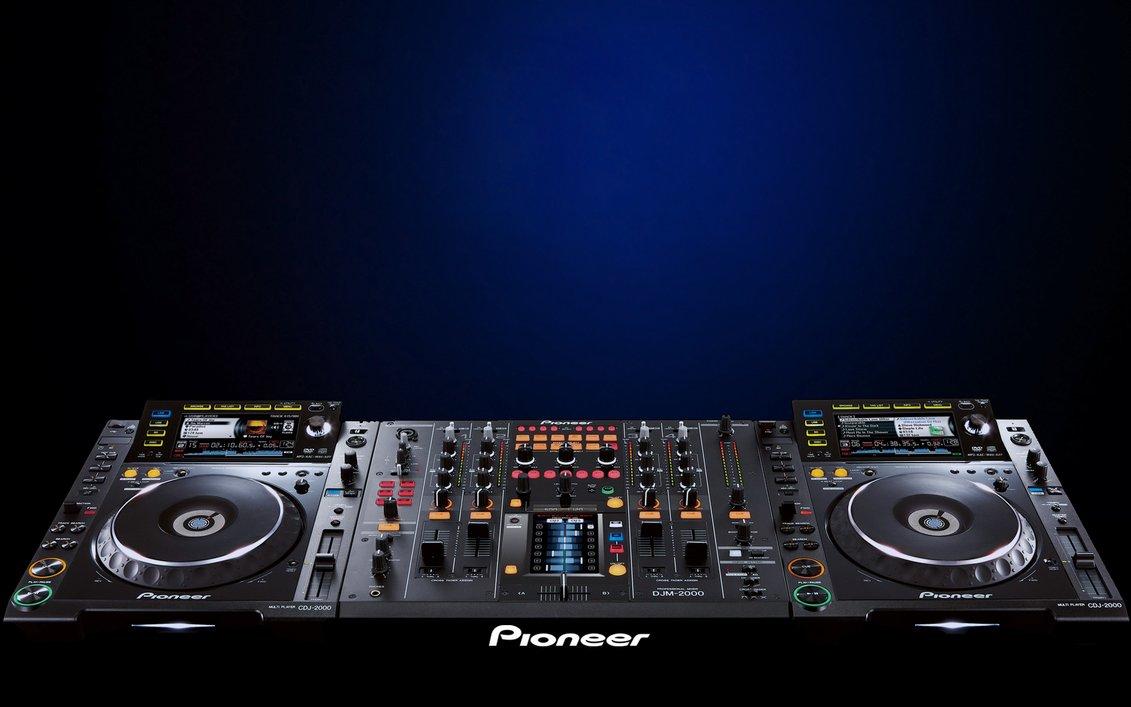 Pioneer CDJ 2000 DJM 2000 Wallpaper by cozzie49 1131x707