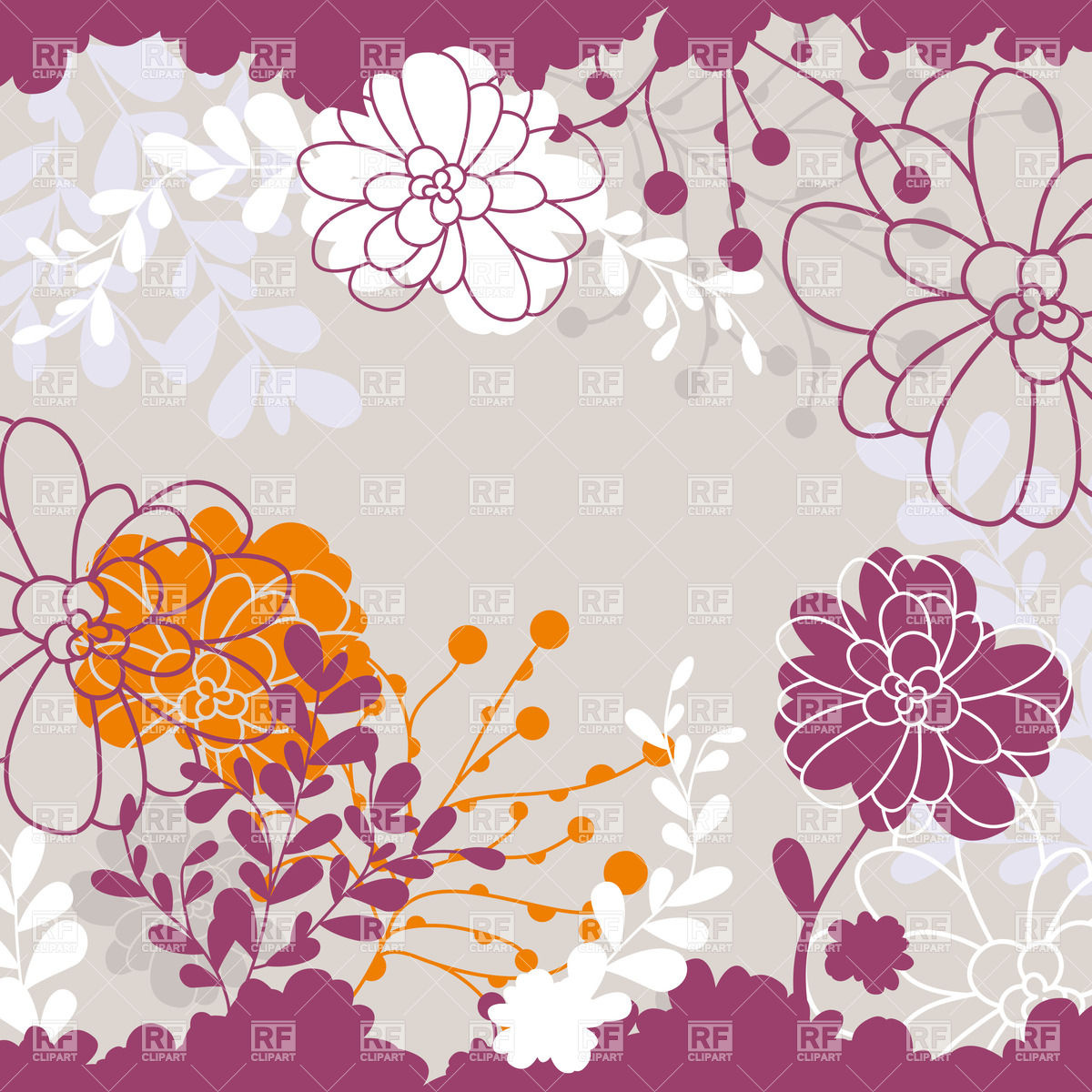 Free Download Abstract Cute Floral Background 37890 Backgrounds