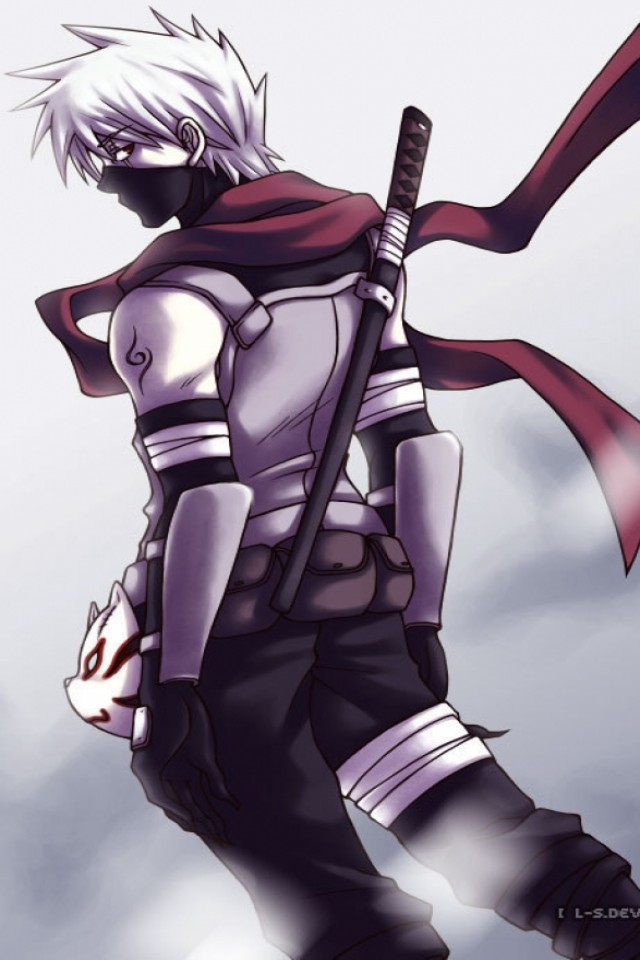Anbu Kakashi Iphone Wallpaper 640x960