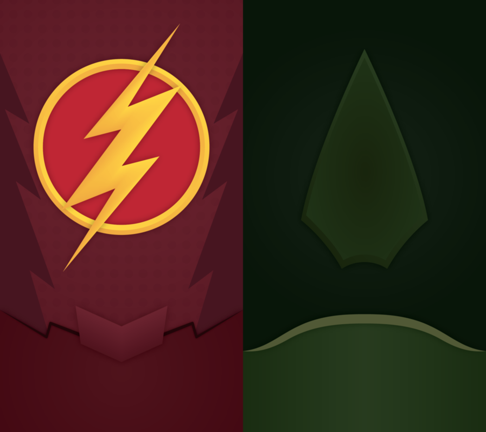 CW DC Universe Phone Background by UrLogicFails 948x842