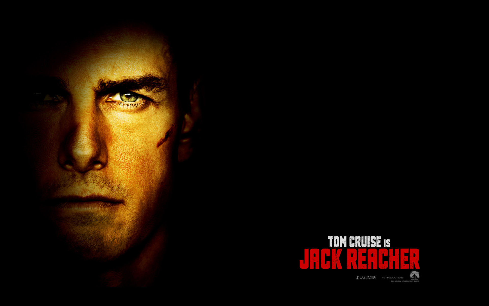 Jack Reacher wallpapers starring Tom Cruise Movie Wallpapers 1920x1200