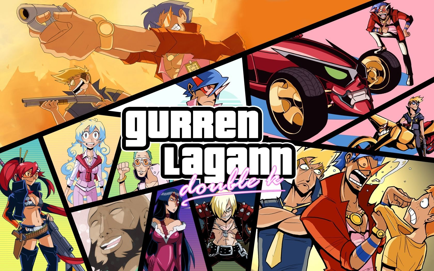 513 Tengen Toppa Gurren Lagann HD Wallpapers Background Images 1680x1050