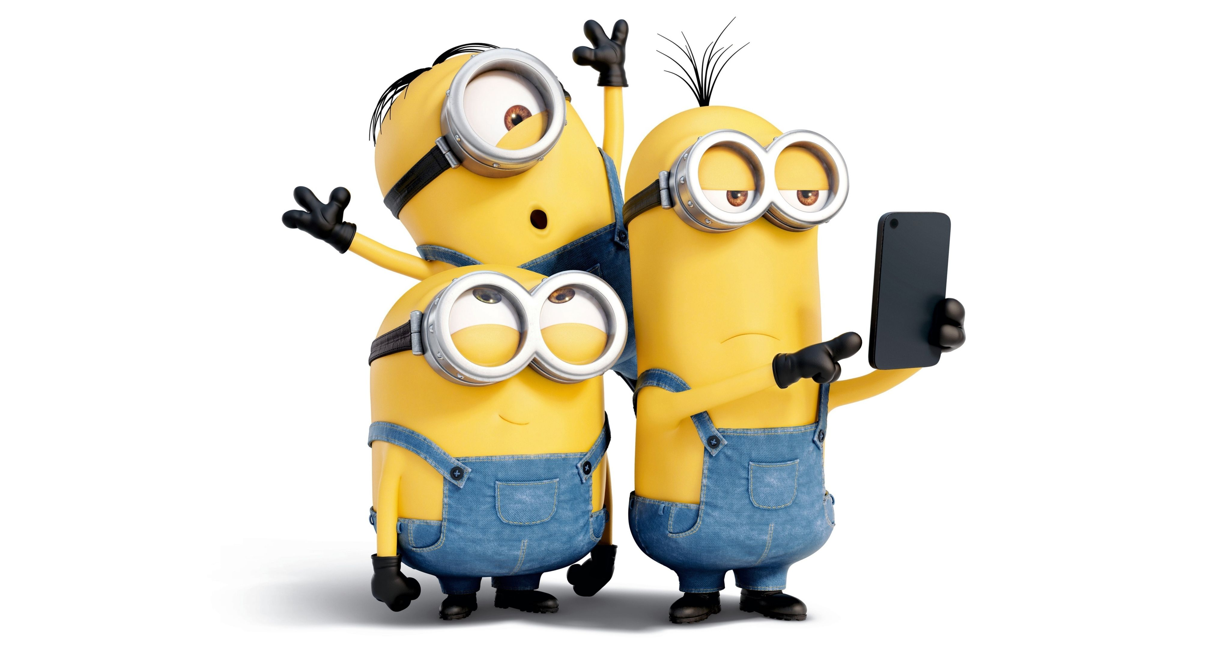 50 Minions HD Wallpapers Background Images 4096x2160