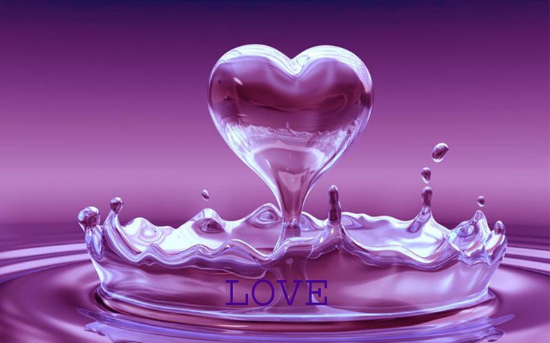 Beautiful purple heart wallpaper purple heart wallpaper 800x500