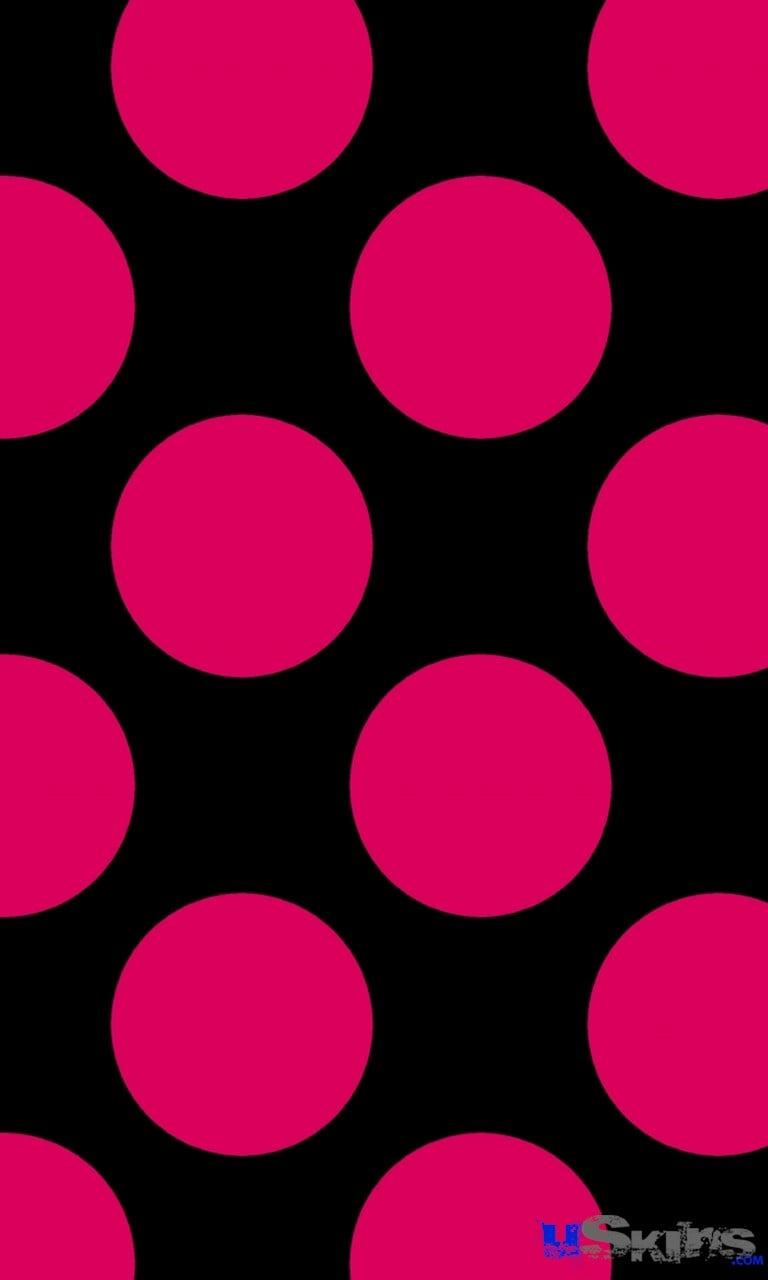 Black Polka Dot Wallpaper Wallpapersafari