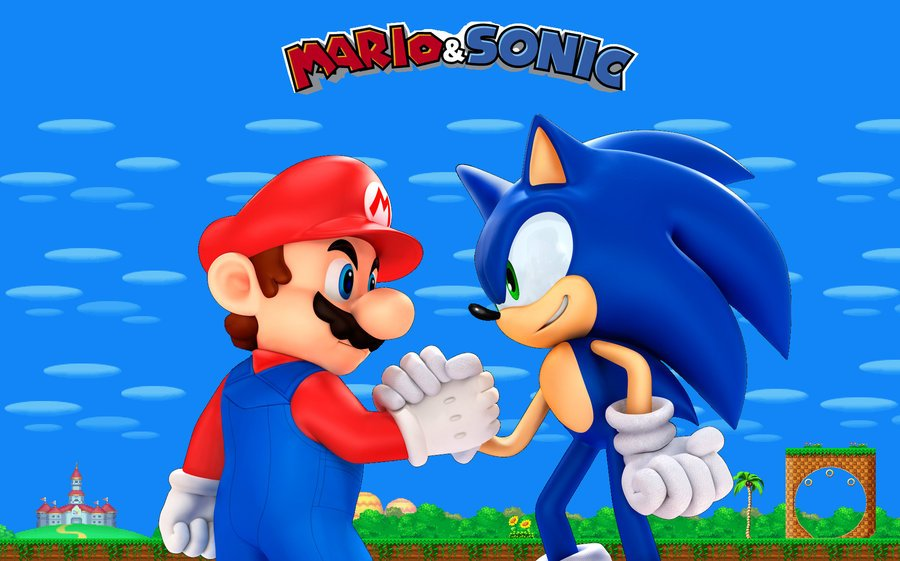 49 Sonic And Mario Wallpaper On Wallpapersafari