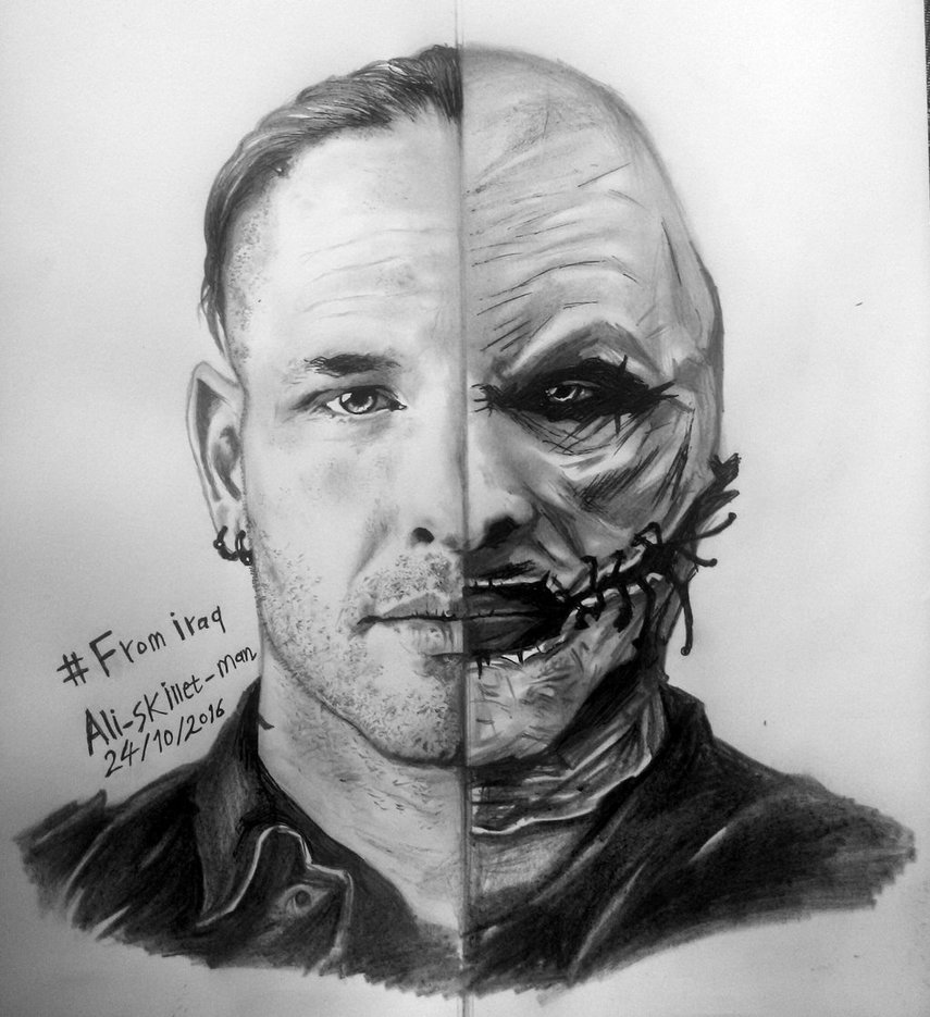COREY TAYLOR by aliskilletman 855x935