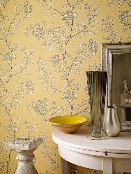 lemon and grey wallpaper wallpapersafari