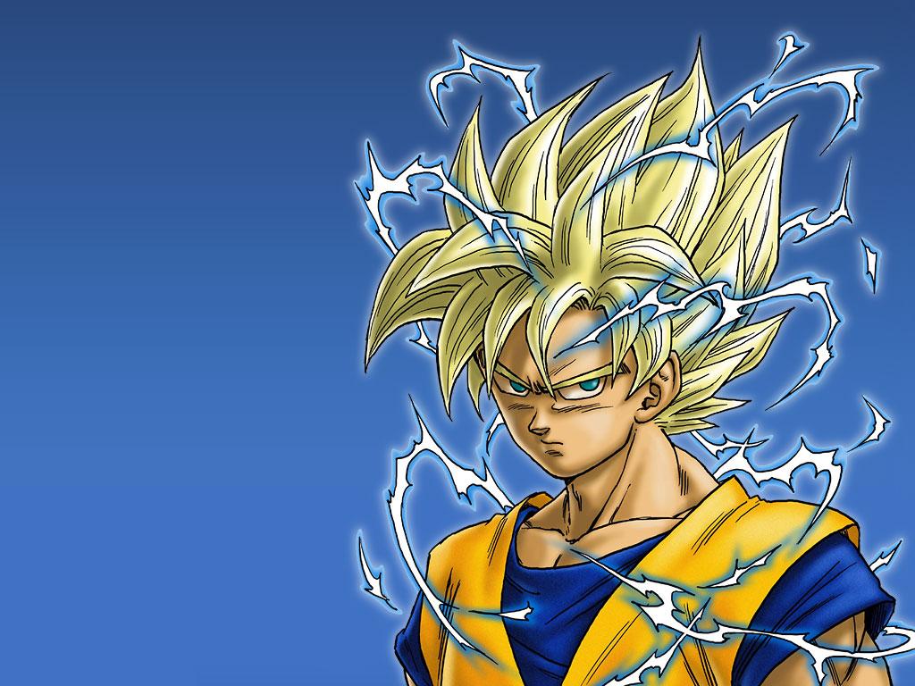 Goku Powering up Wallpapers Goku Power up by Arumiruchan 1024x768
