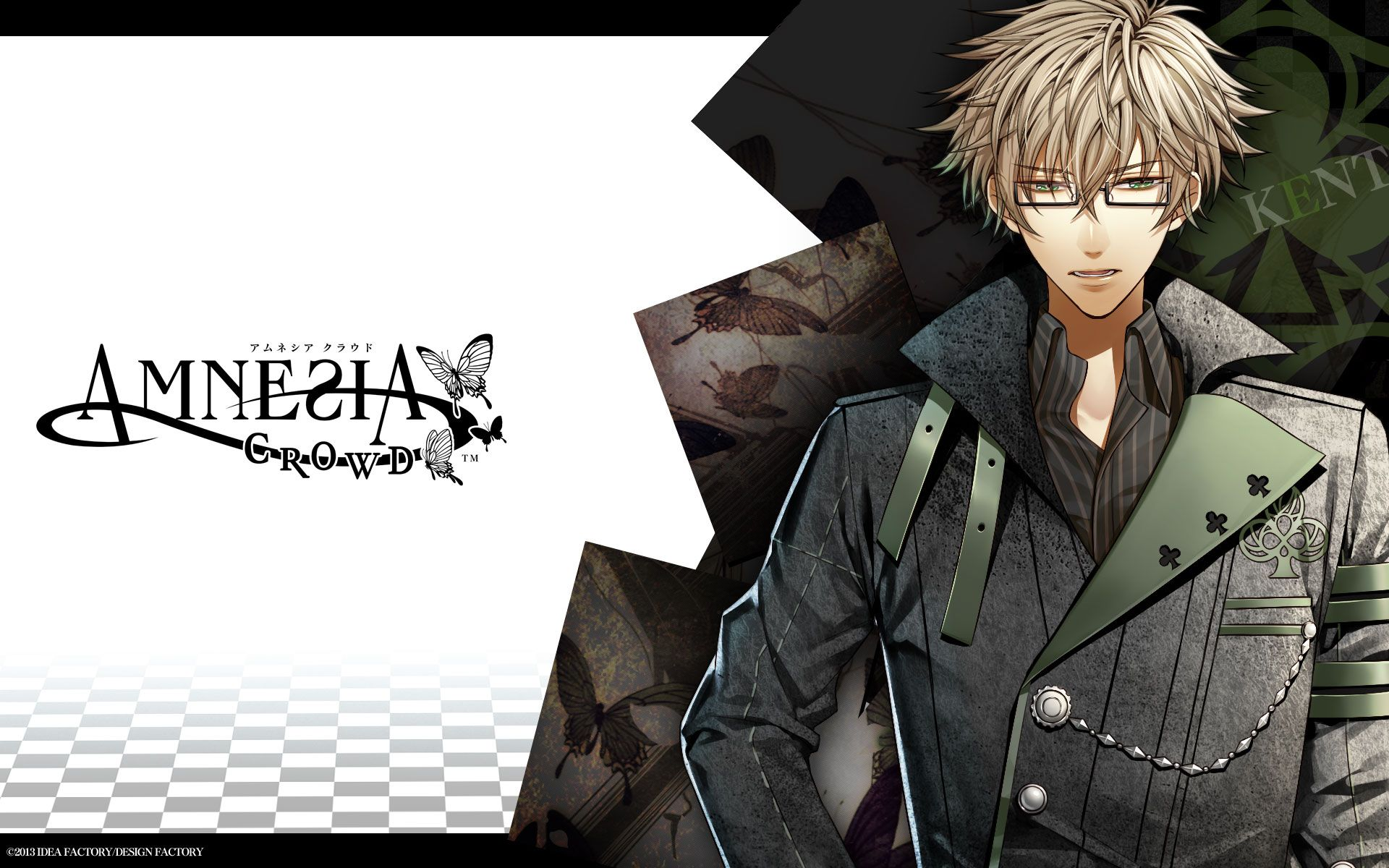 Tags Wallpaper IDEA FACTORY Official Art AMNESIA Kent 1920x1200