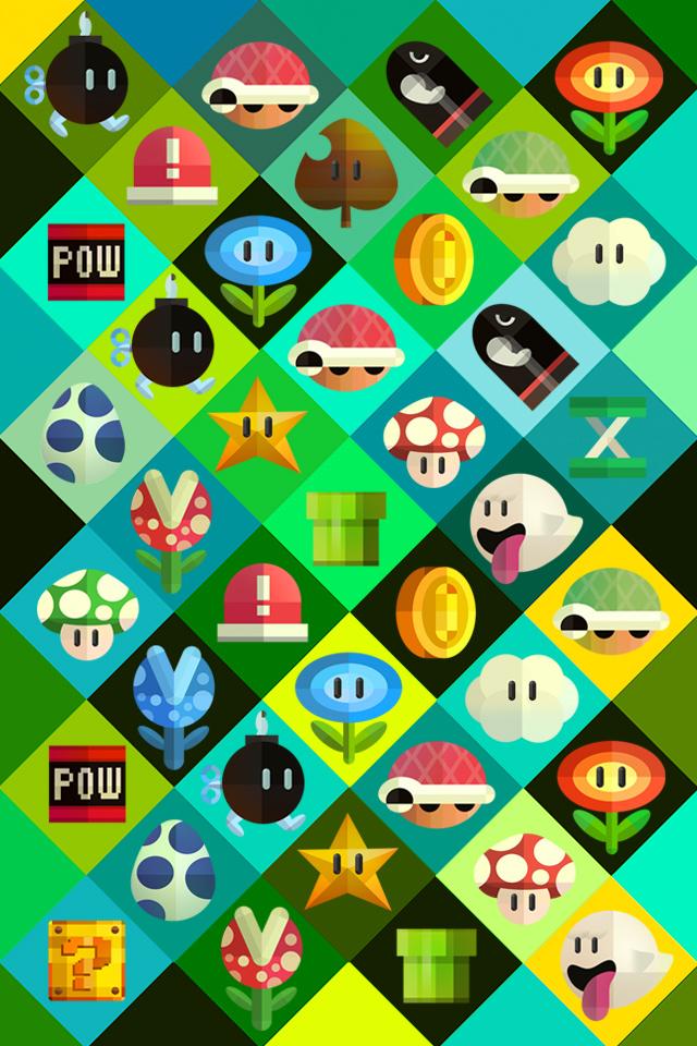 Nintendo Wallpaper 640x960