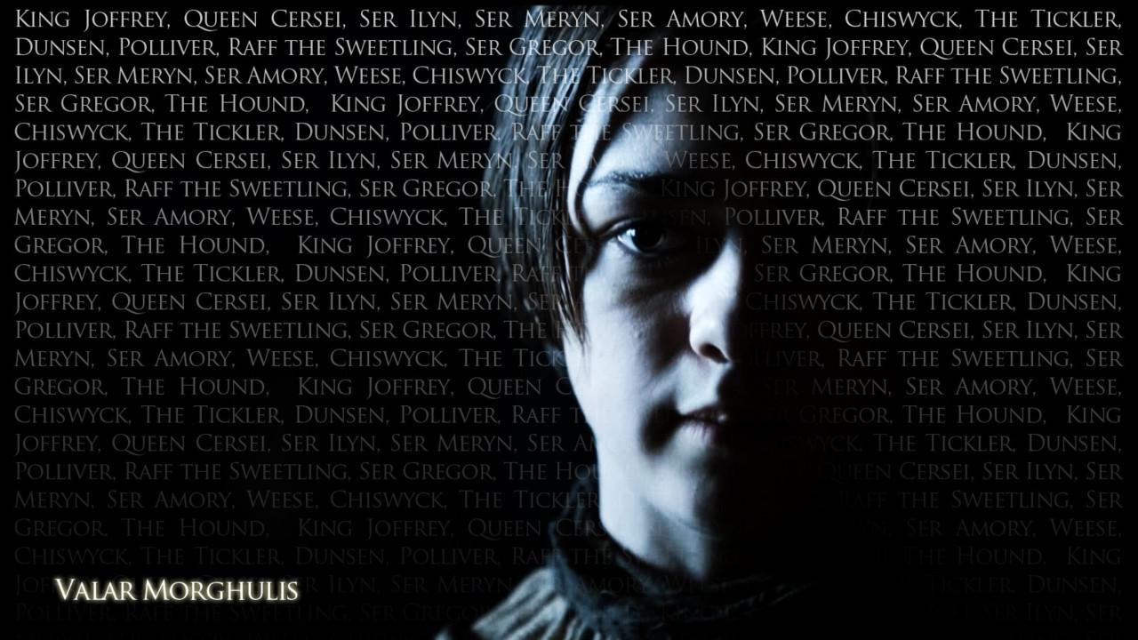 NOC Recaps Game of Thrones Part Two Valar Morghulis 1280x720