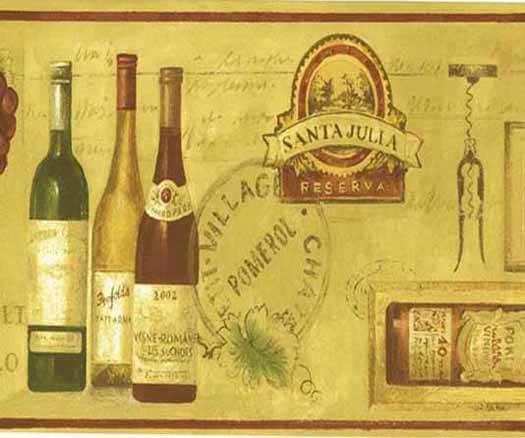 wallpaper inccomproductsnorwallimport beer bottle wallpaper border 525x438