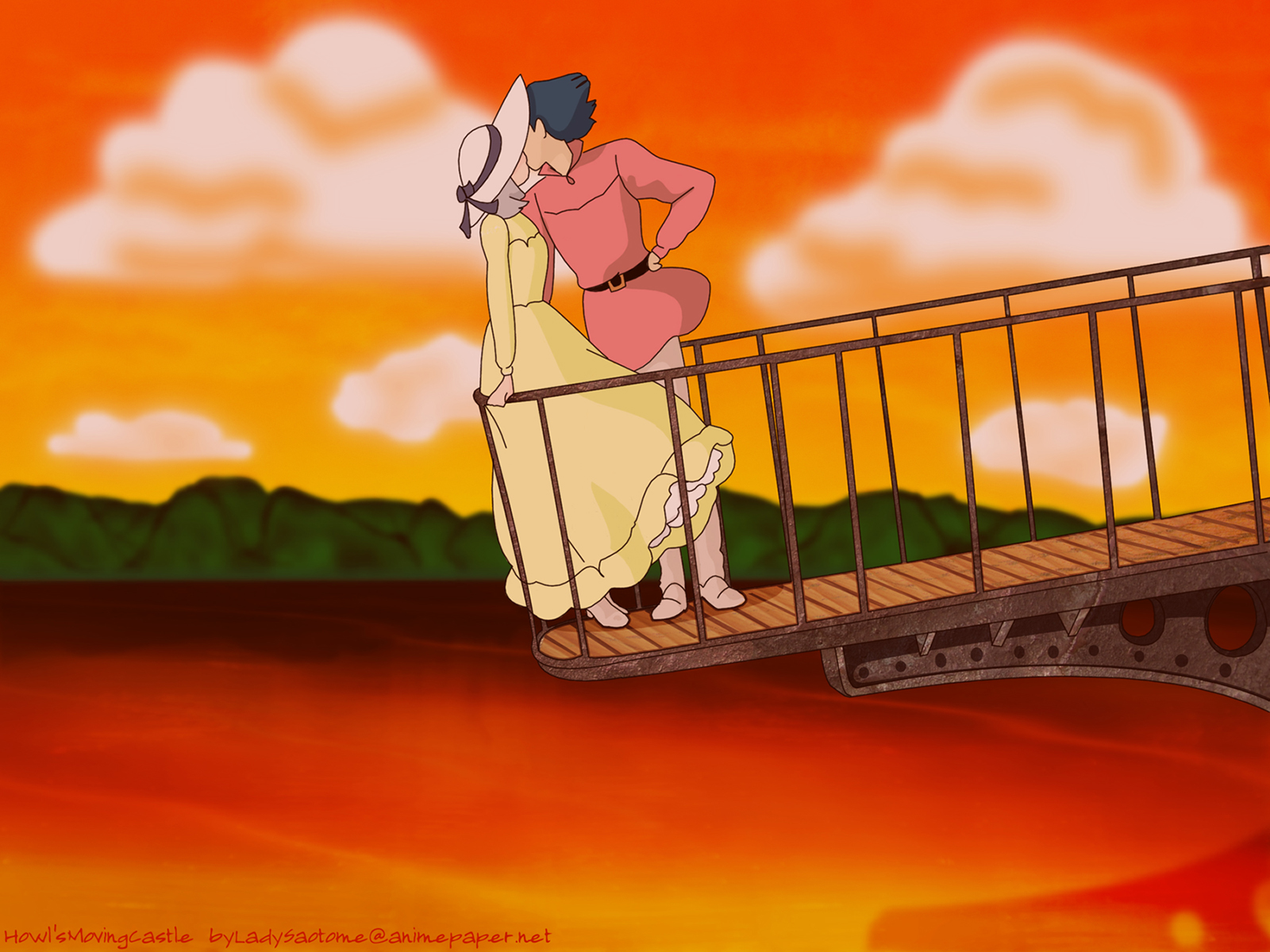 Studio Ghibli Wallpaper 1600x1200 Studio Ghibli Howls Moving 1600x1200