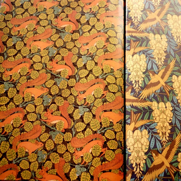 Art Nouveau Wall Papers 610x610