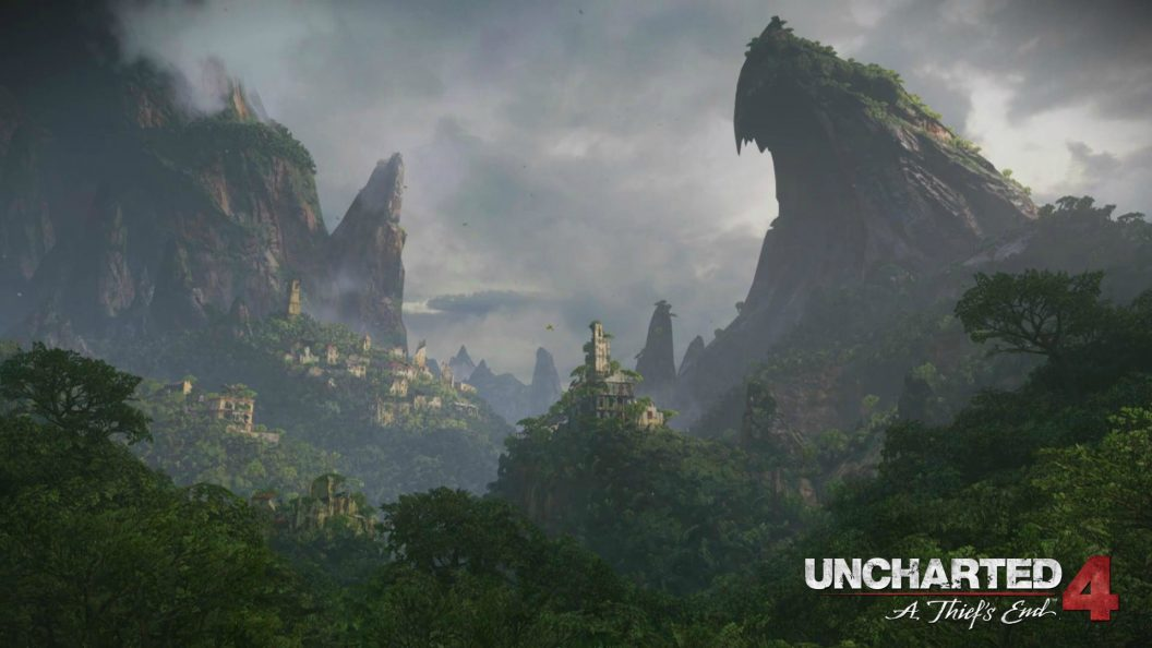 Uncharted 4 A Thiefs End Mountain Wallpaper Updated 1056x594
