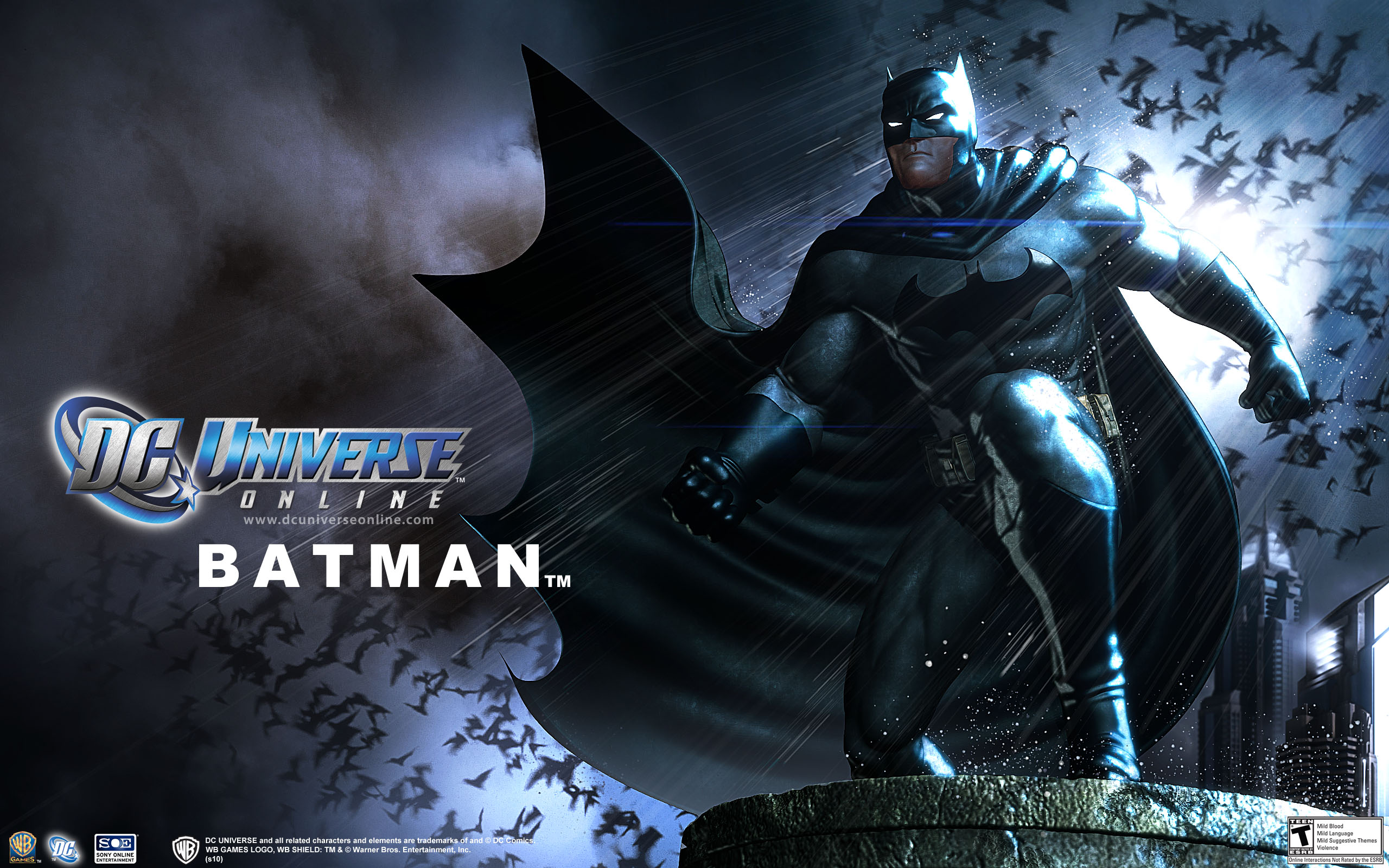 DC Universe Online Batman wallpaper 2560x1600