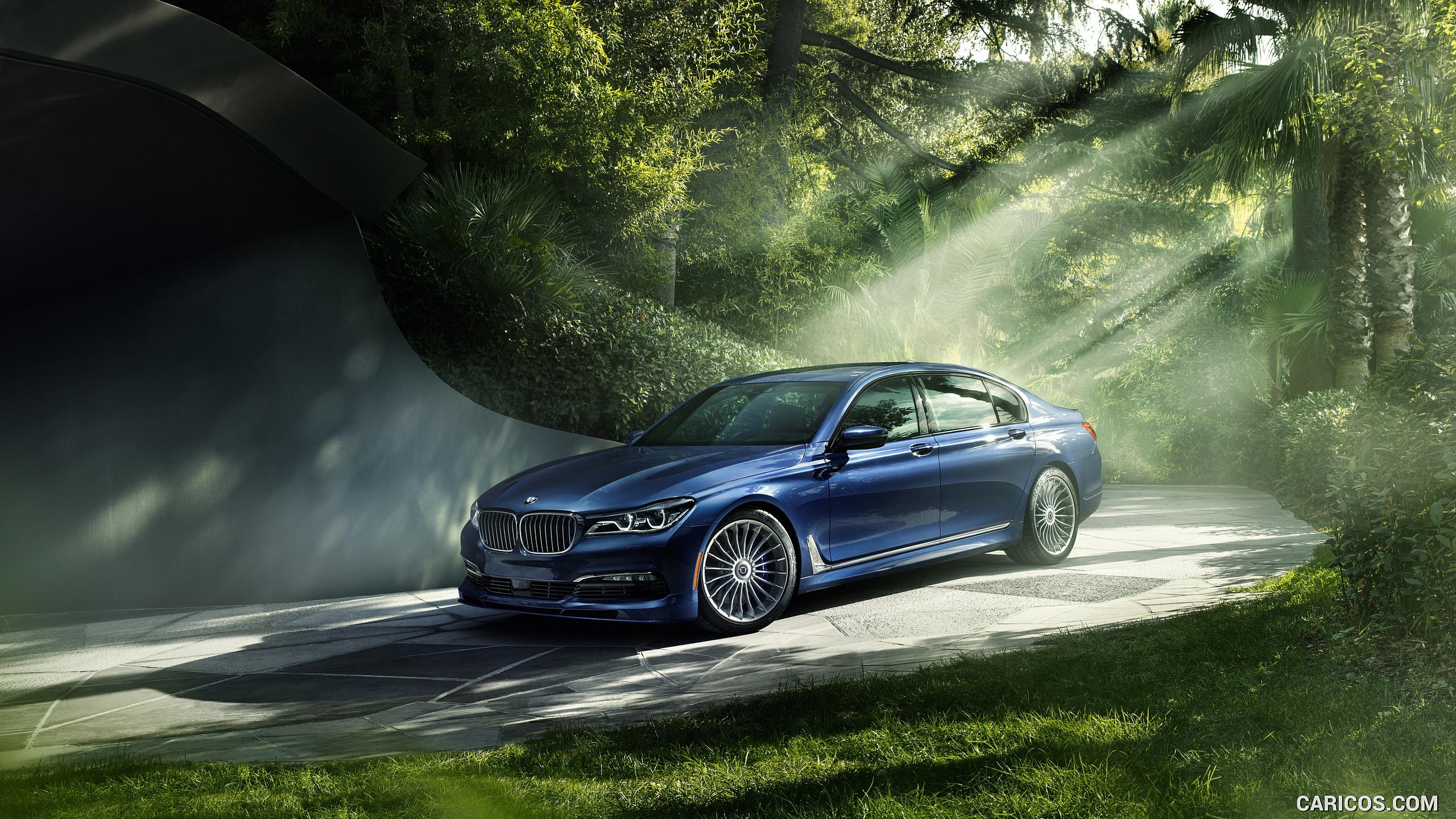 2017 ALPINA BMW B7 xDrive Blue   Front HD Wallpaper 12 2560x1440