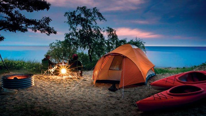 Summer Camping Wallpaper - WallpaperSafari