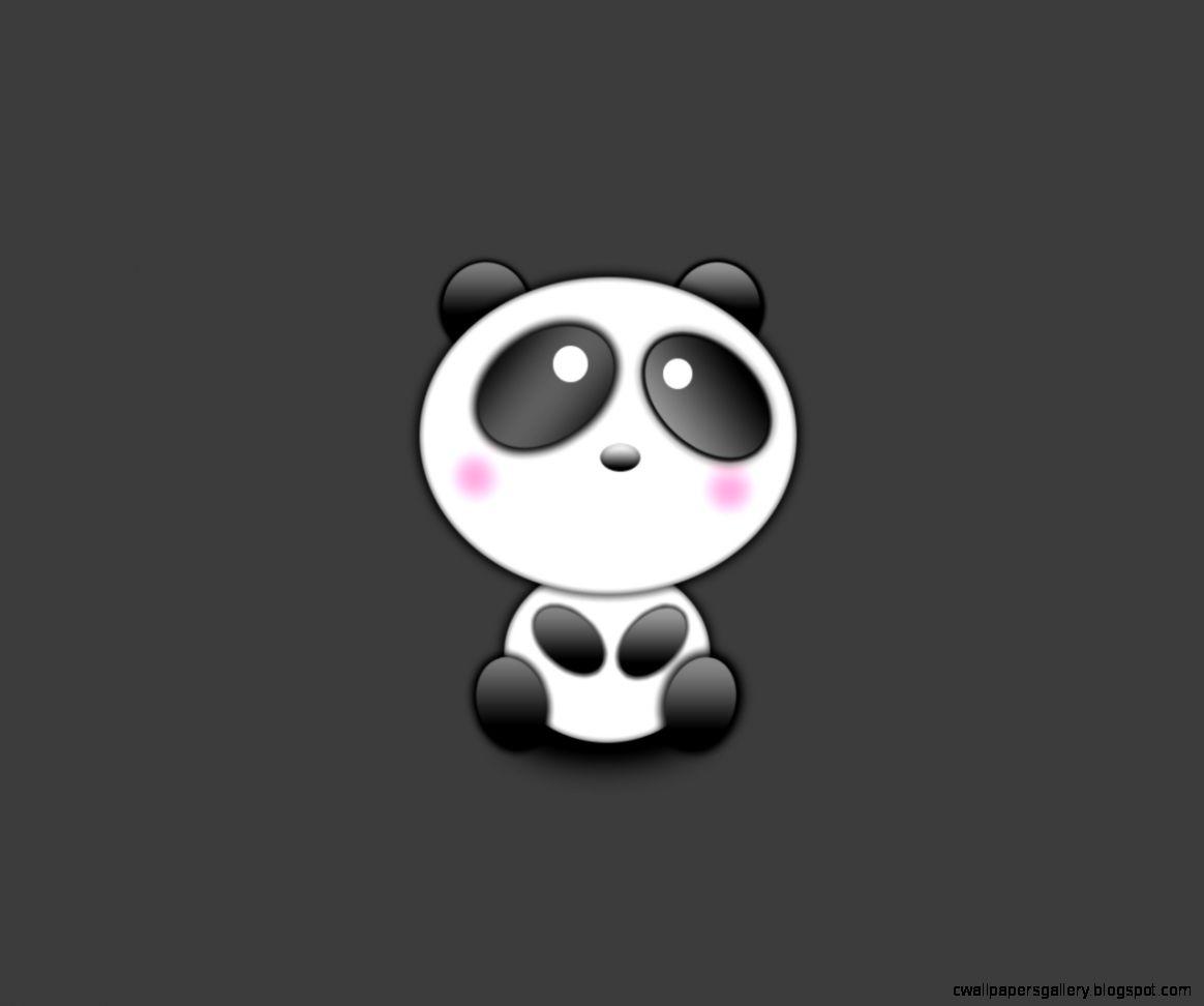 Cute Panda Cartoon Wallpaper Wallpapers Gallery 1164x972