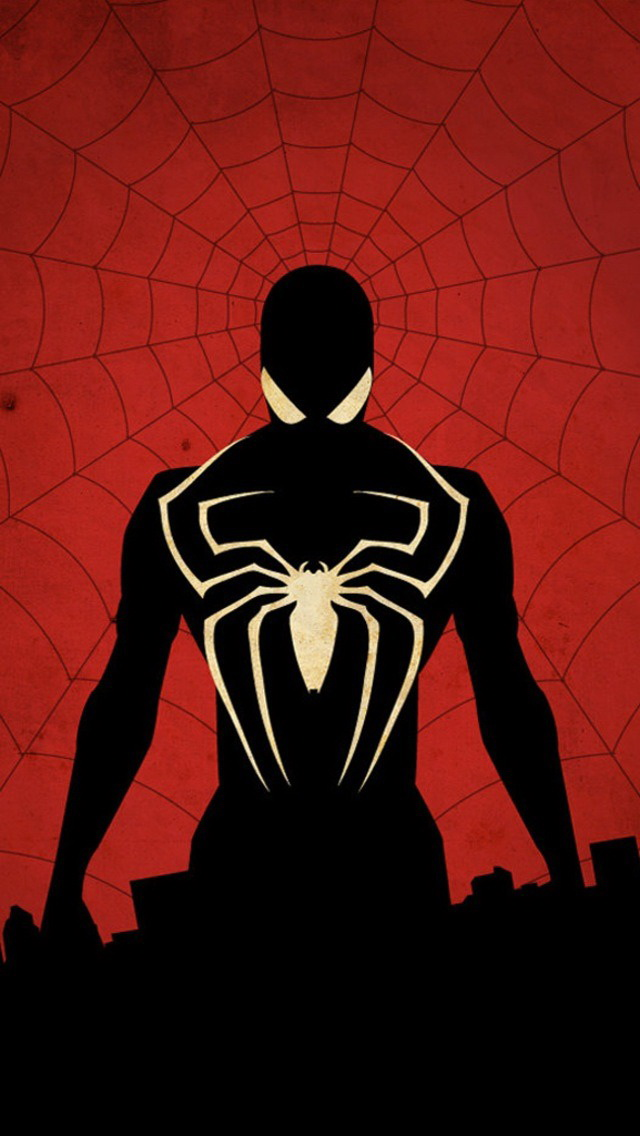 Spiderman iphone wallpaper hd wallpapersafari - Iphone 6 spiderman wallpaper ...
