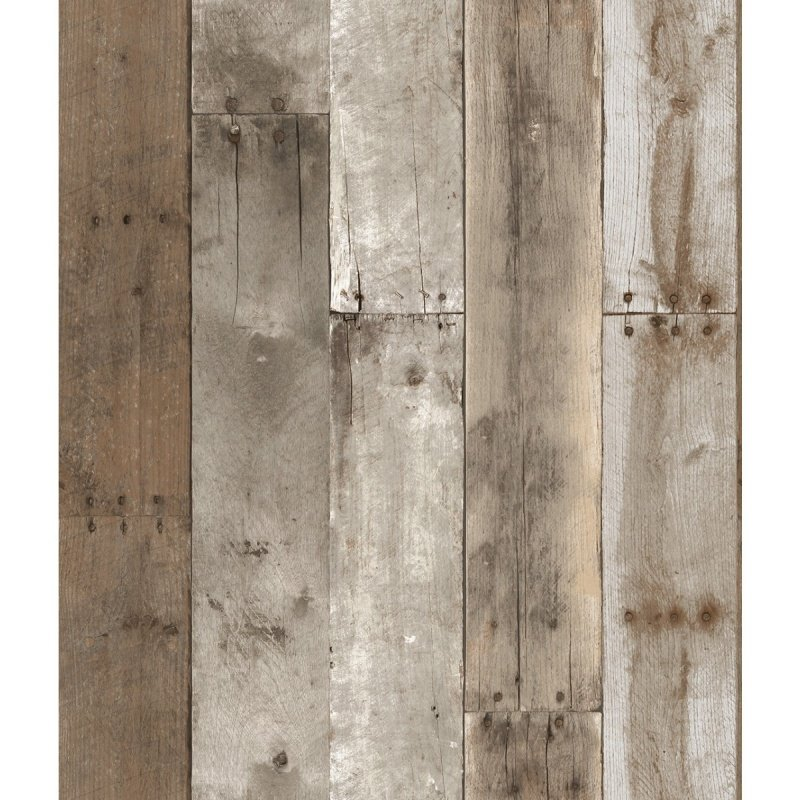 Wall Decor \ Wallpaper \ Repurposed Wood Weathered Removable Wallpaper 800x800