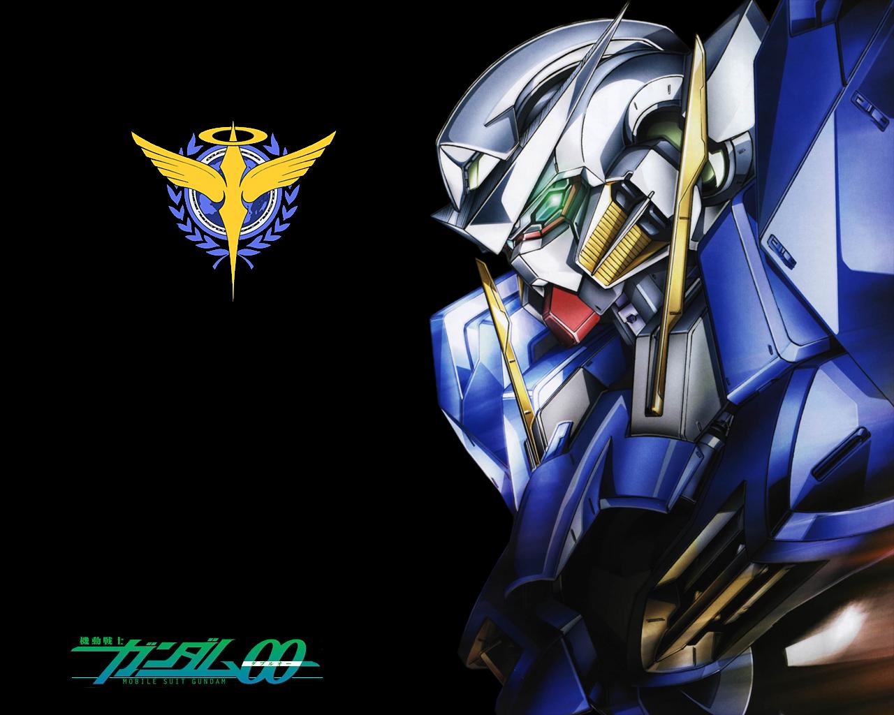 Gundam 00 Exia by SiegHart66 1280x1024