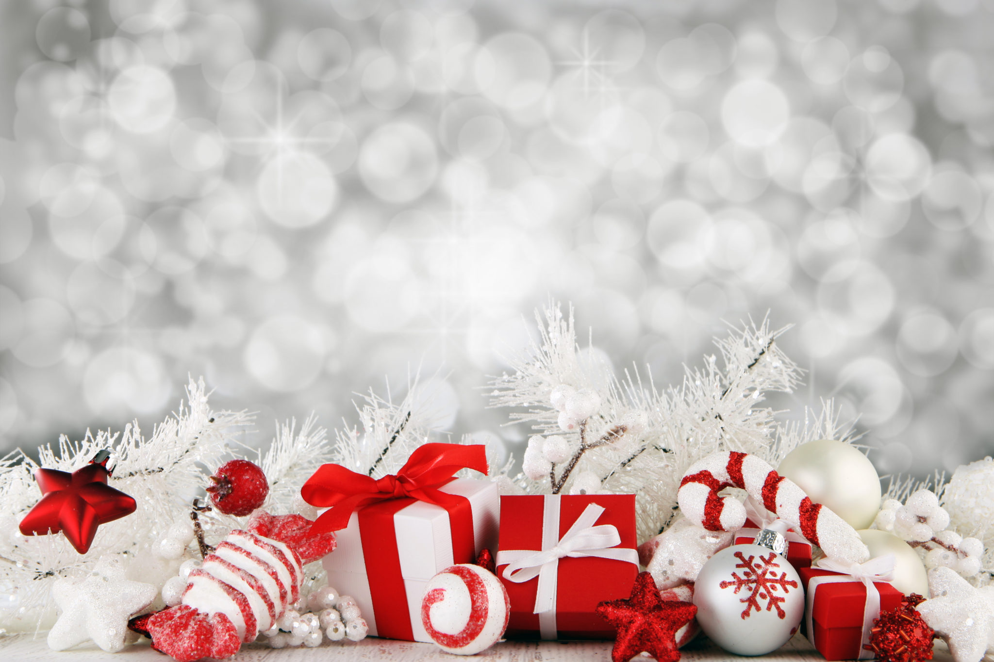 photo Christmas Background   Seasonal New Merry 2048x1365