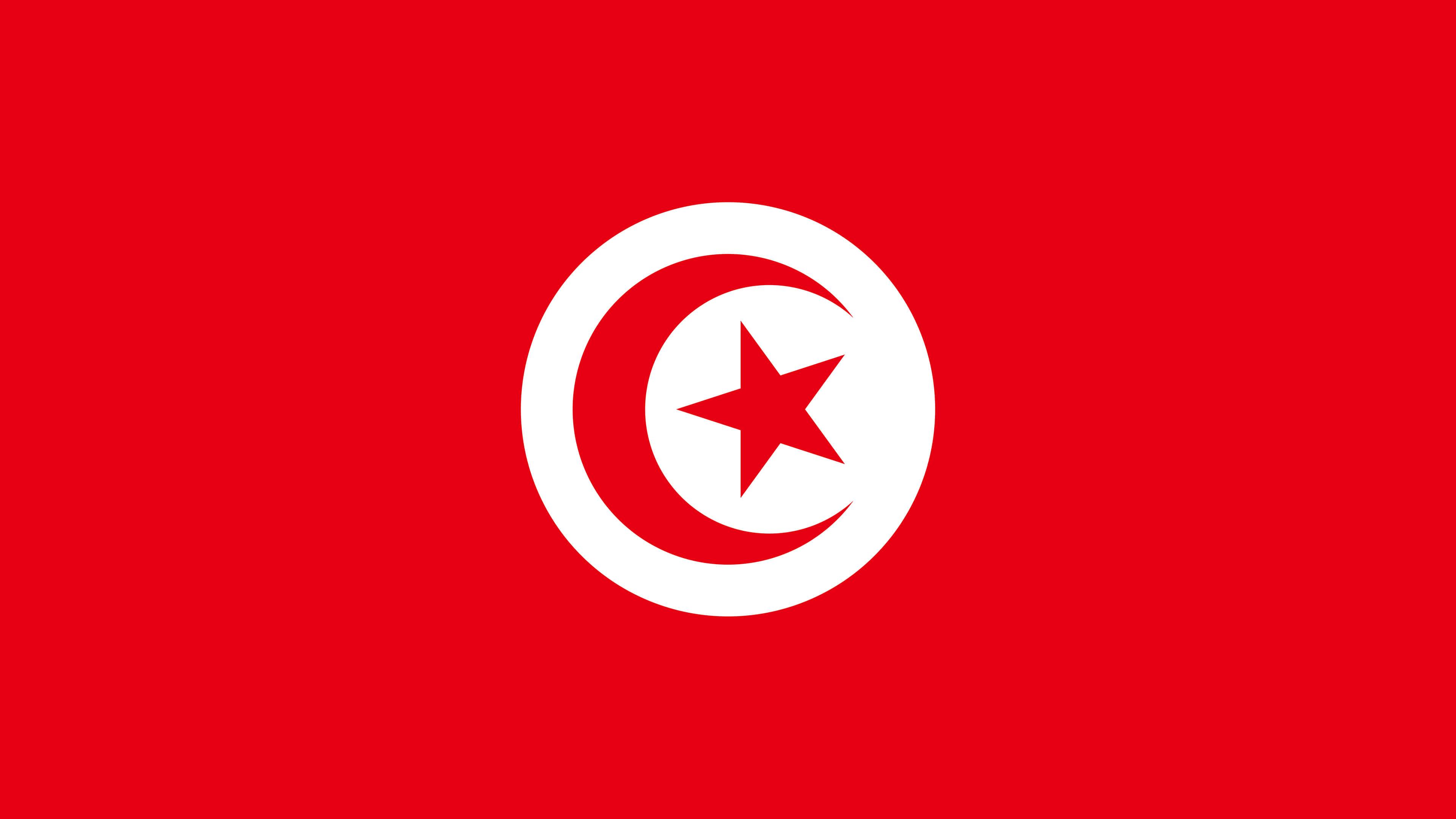 Tunisia Flag UHD 4K Wallpaper Pixelz 3840x2160