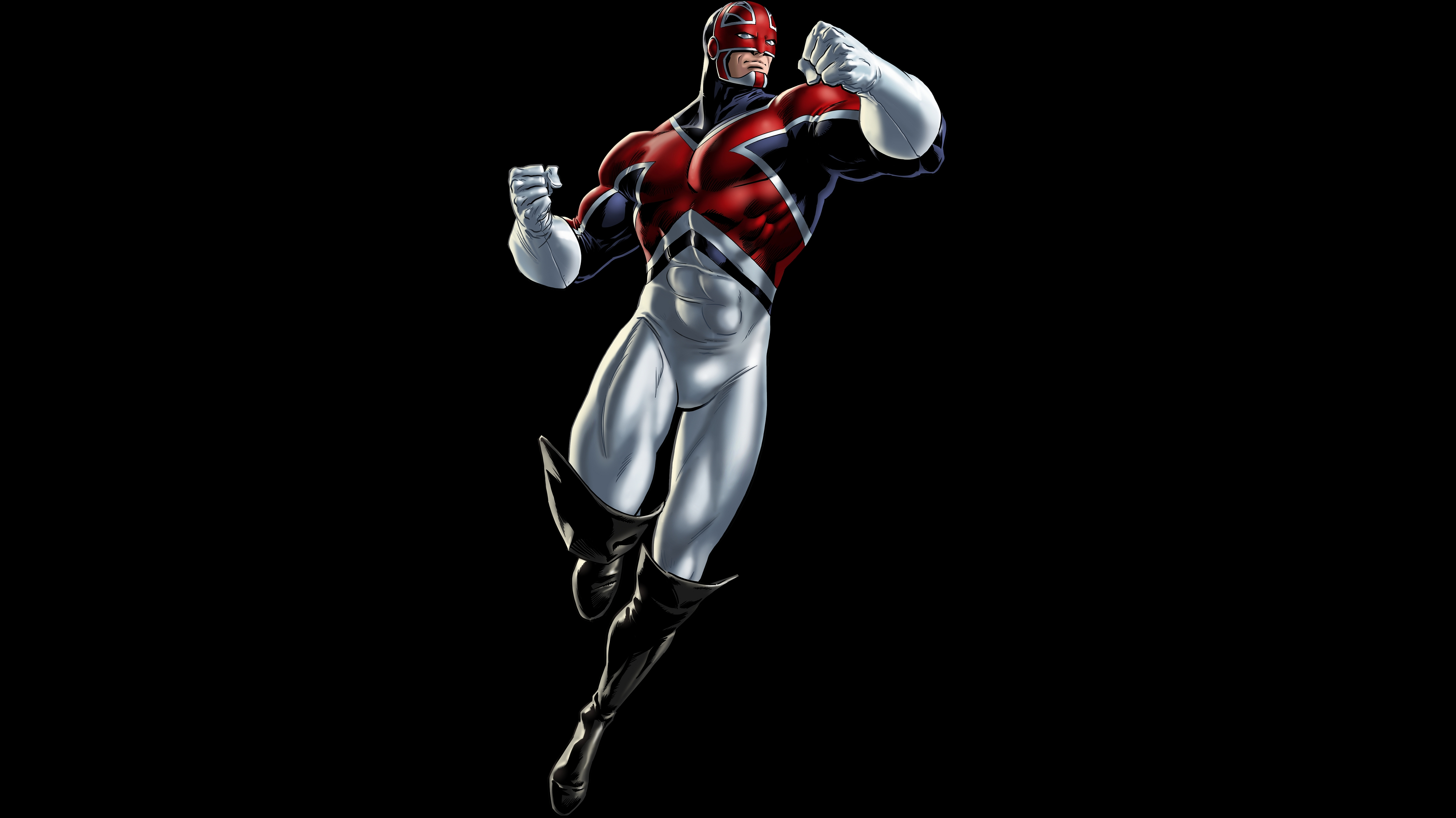 Captain Britain 5k Retina Ultra HD Wallpaper Background Image 5400x3037