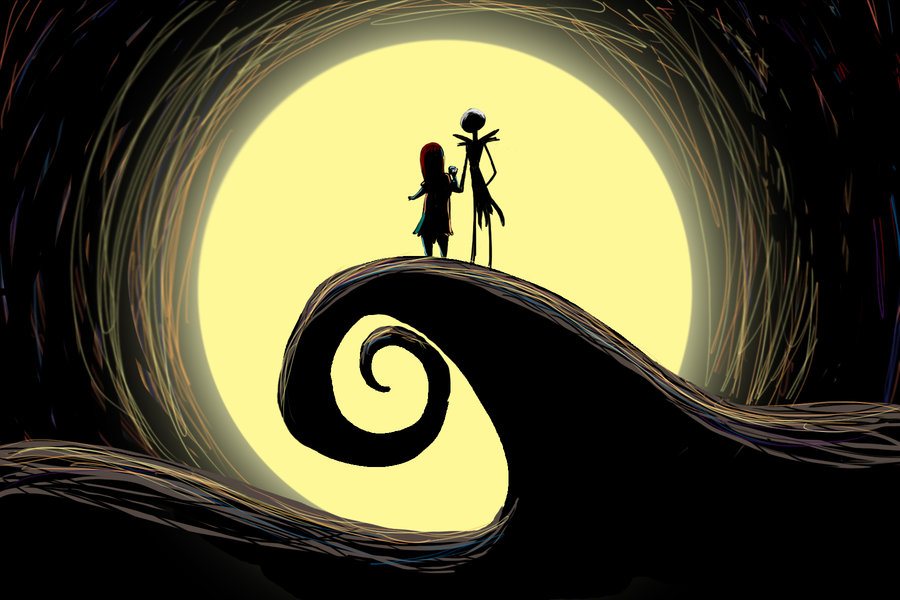 download Jack Skellington And Sally Wallpaper Hd Images 900x600