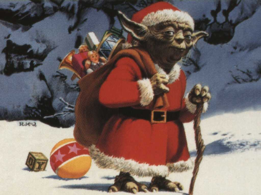 [1920x1080] Turned this Star Wars Christmas sweater design ... |Funny Star Wars Christmas Wallpaper