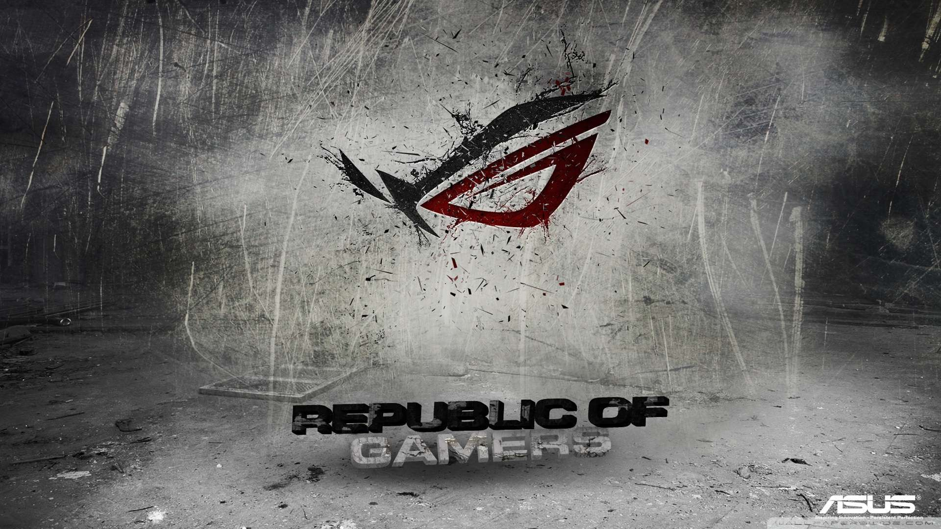 Download now Asus Republic Of Gamers Background Wallpaper 1080p HD 1920x1080